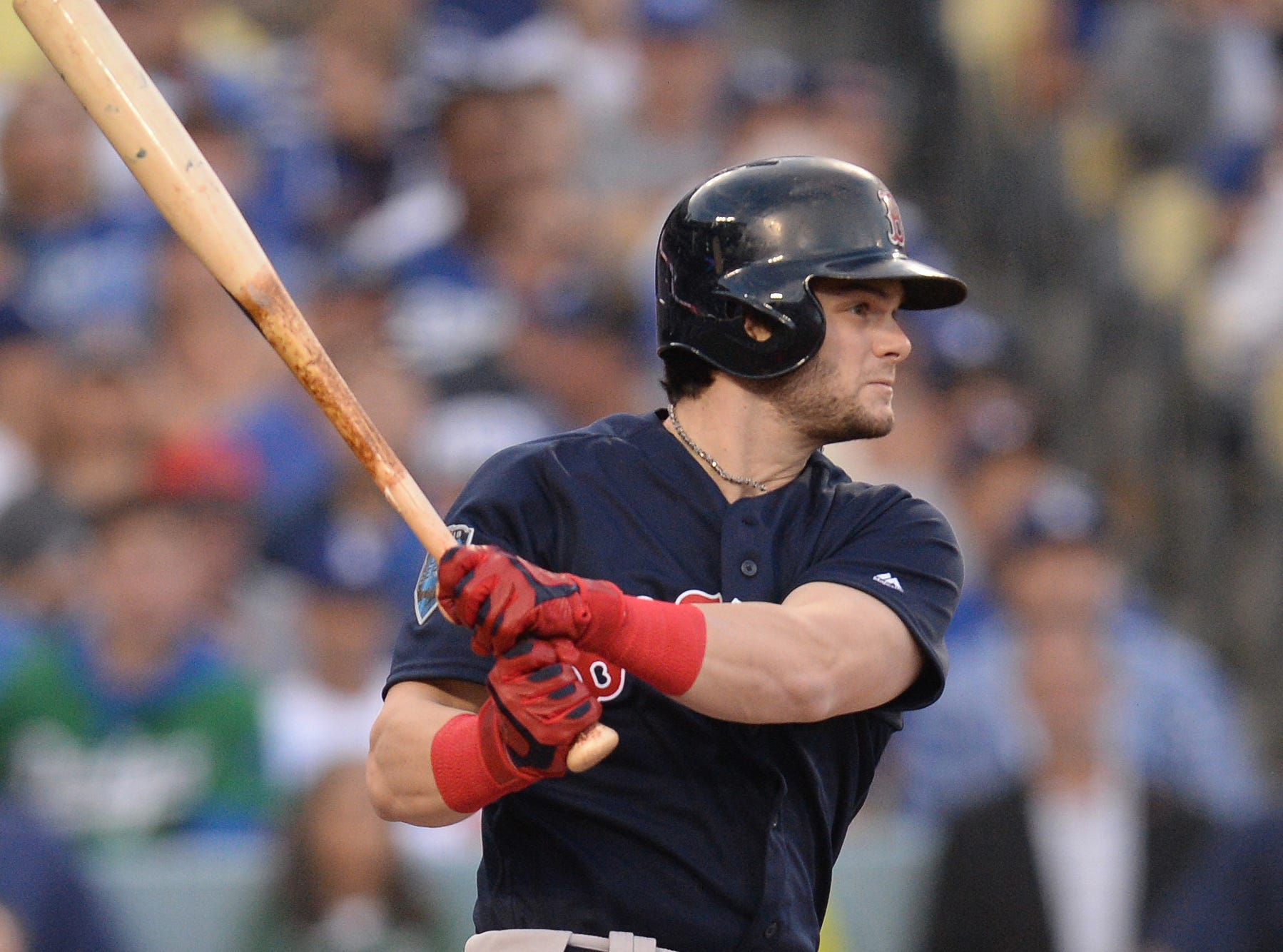 26. Andrew Benintendi, Boston Red Sox outfielder.