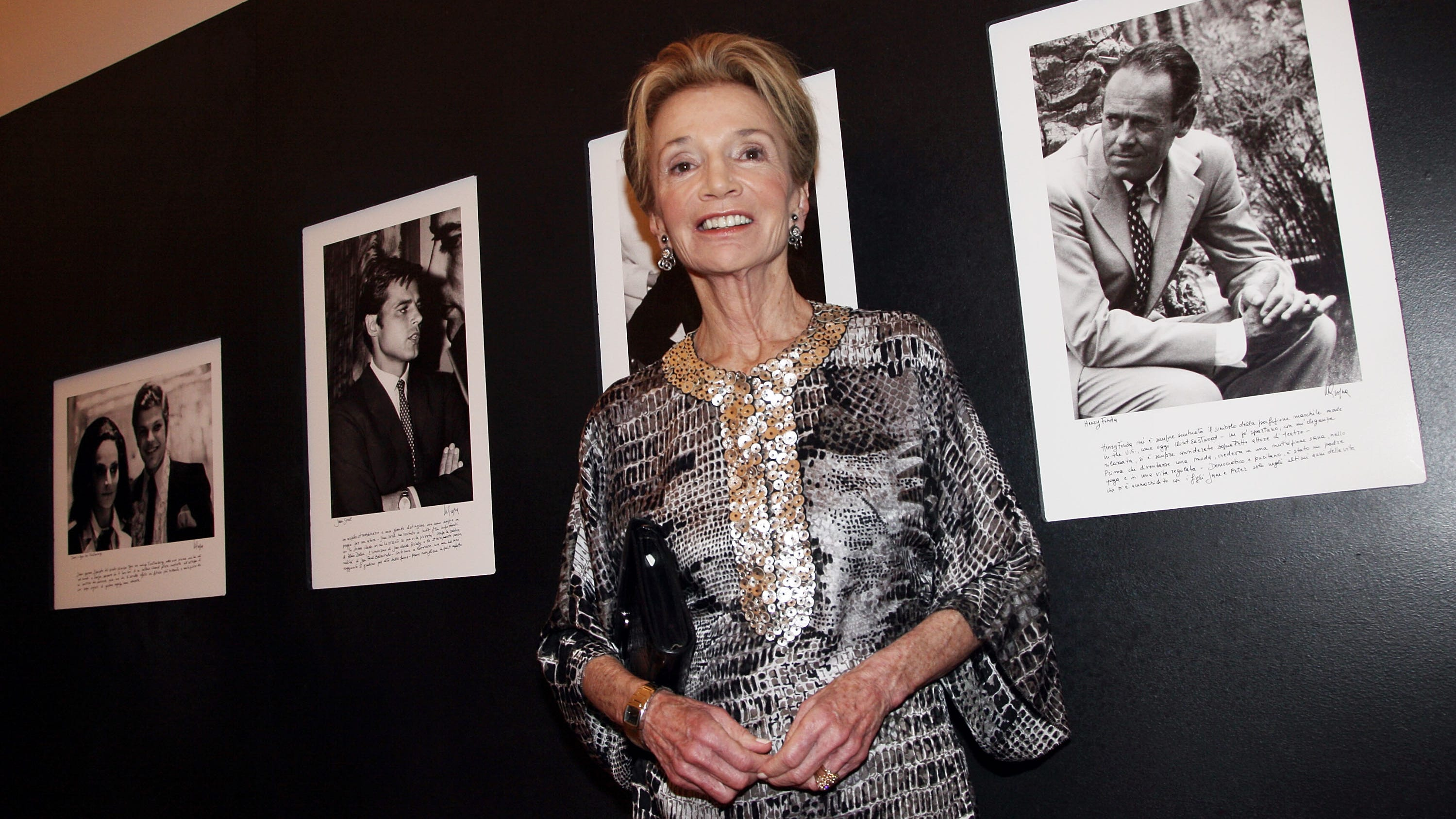 Lee Radziwill, the sister of Jacqueline Kennedy...