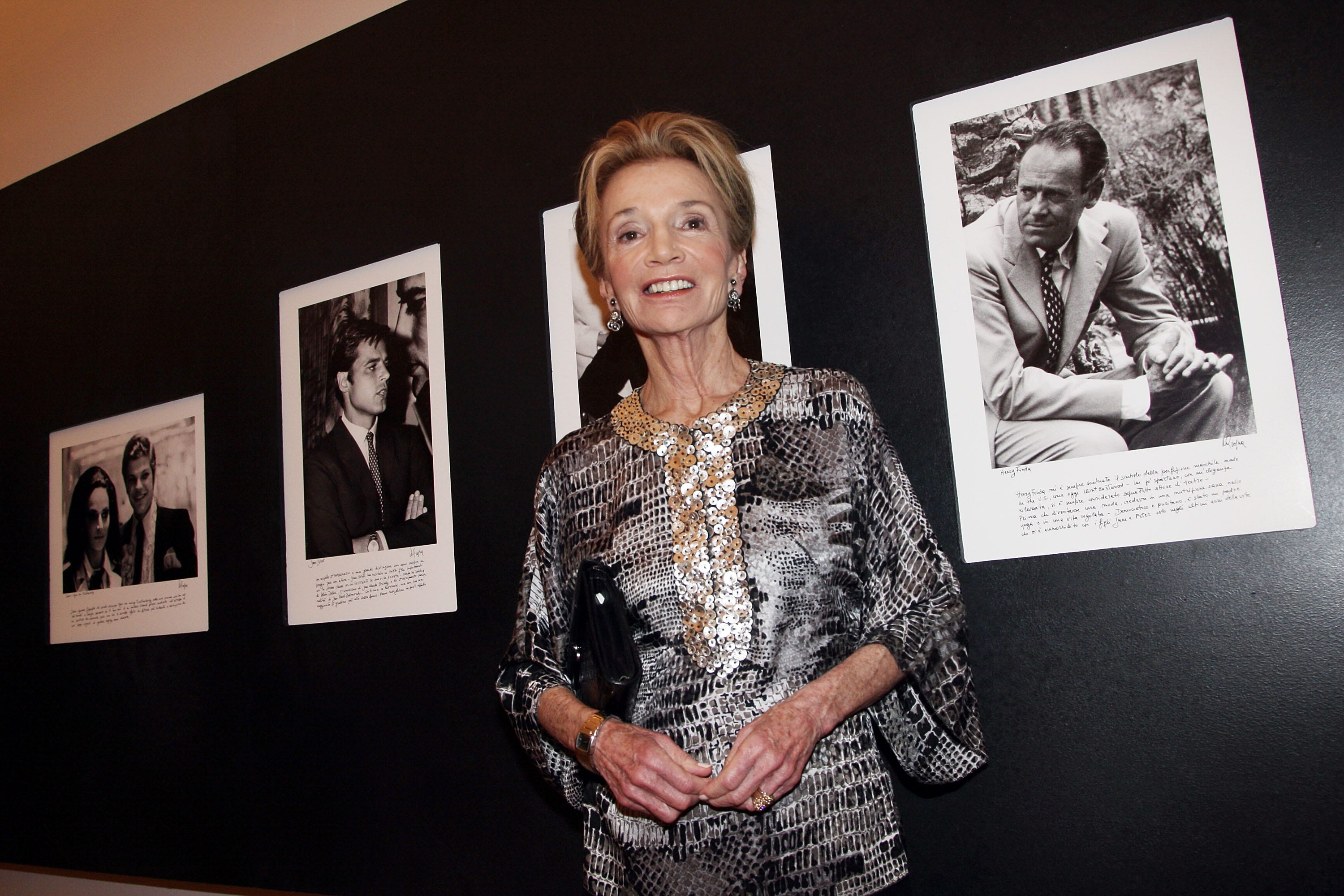 Lee Radziwill, the sister of Jacqueline Kennedy Onassis, attends Marina Cicogna Opening Exhibition at Villa Medici  on June 3, 2009 in Rome, Italy.