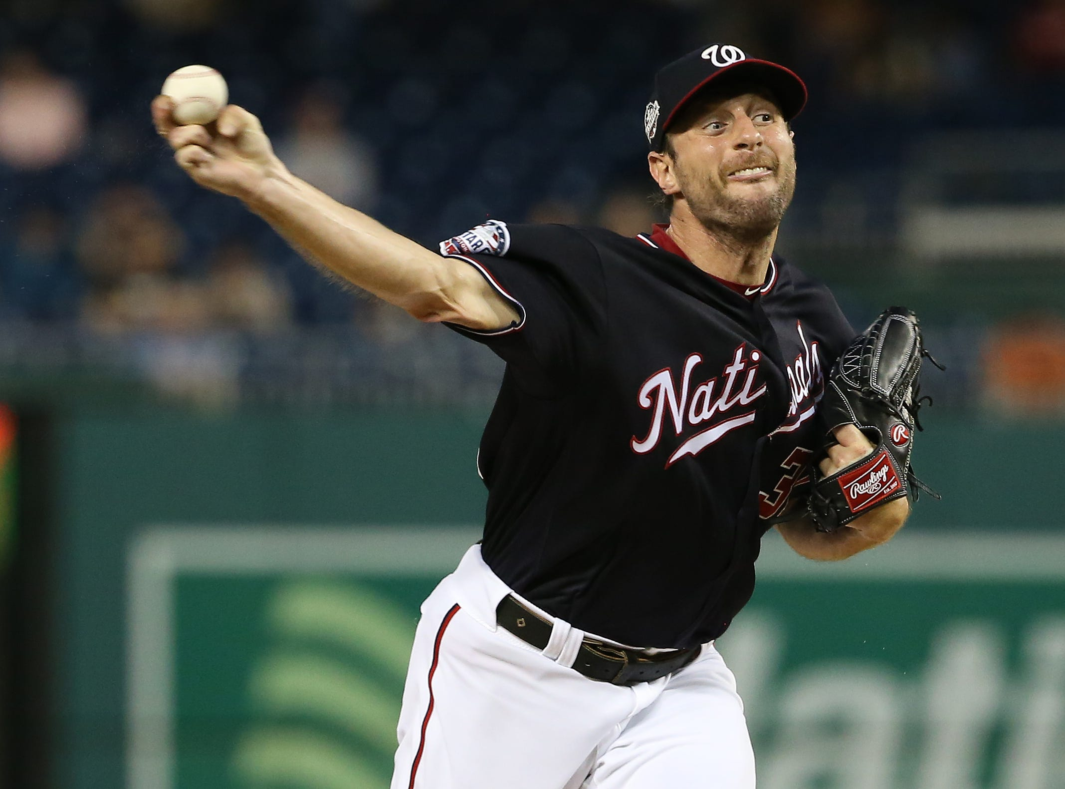 4. Max Scherzer, Washington Nationals starting pitcher