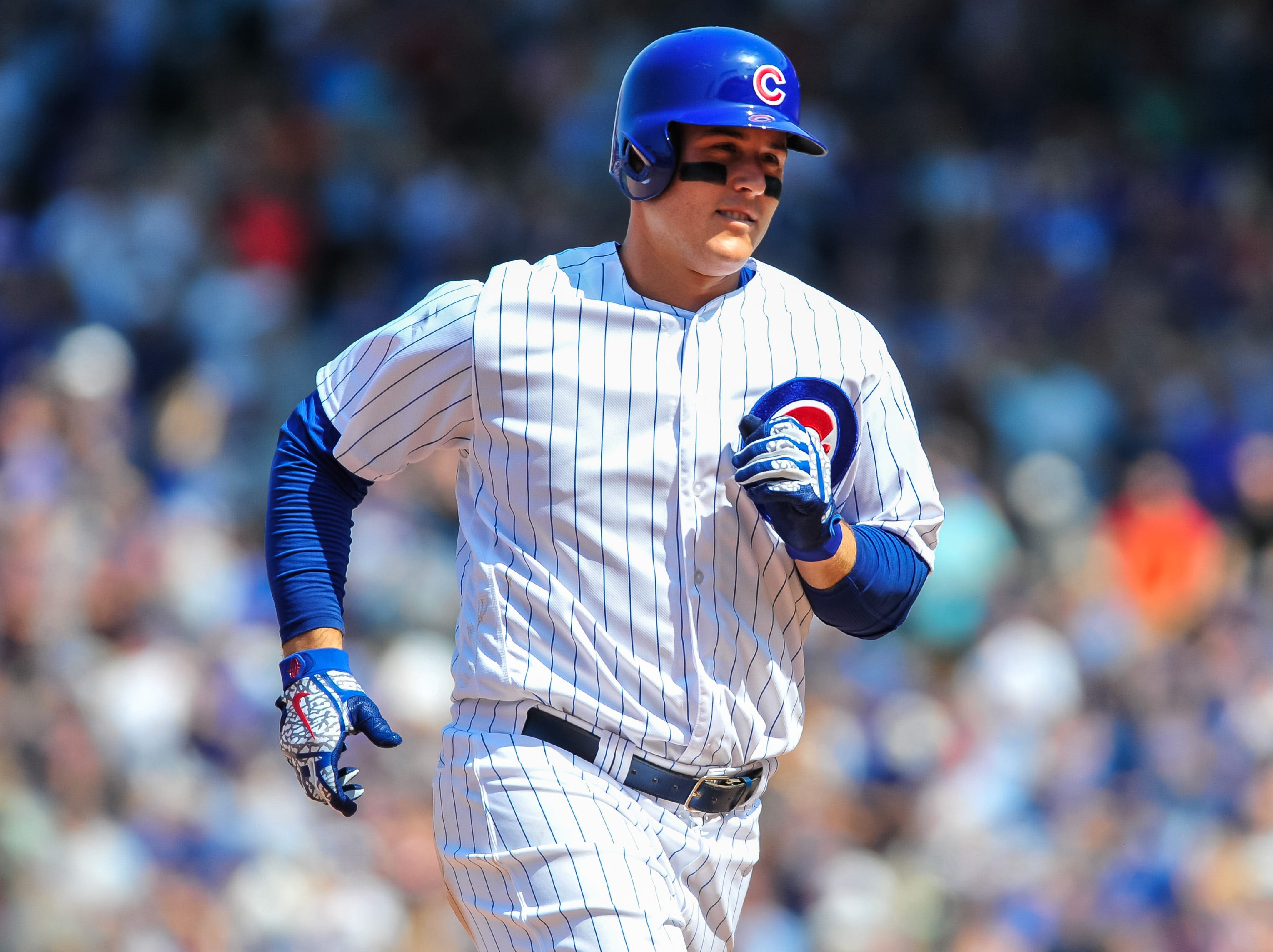32. Anthony Rizzo, Chicago Cubs first baseman.