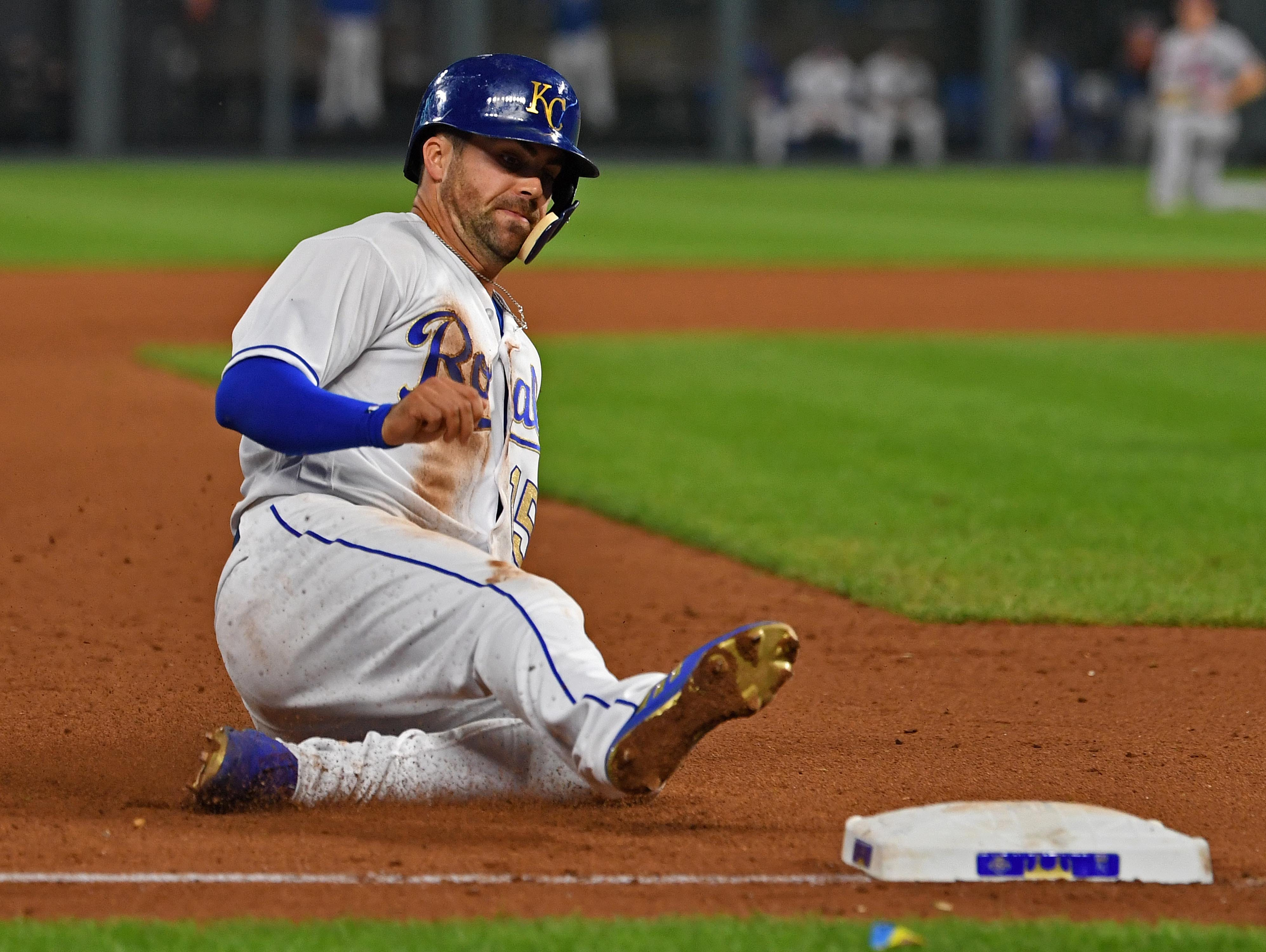 45. Whit Merrifield, Kansas City Royals second baseman.