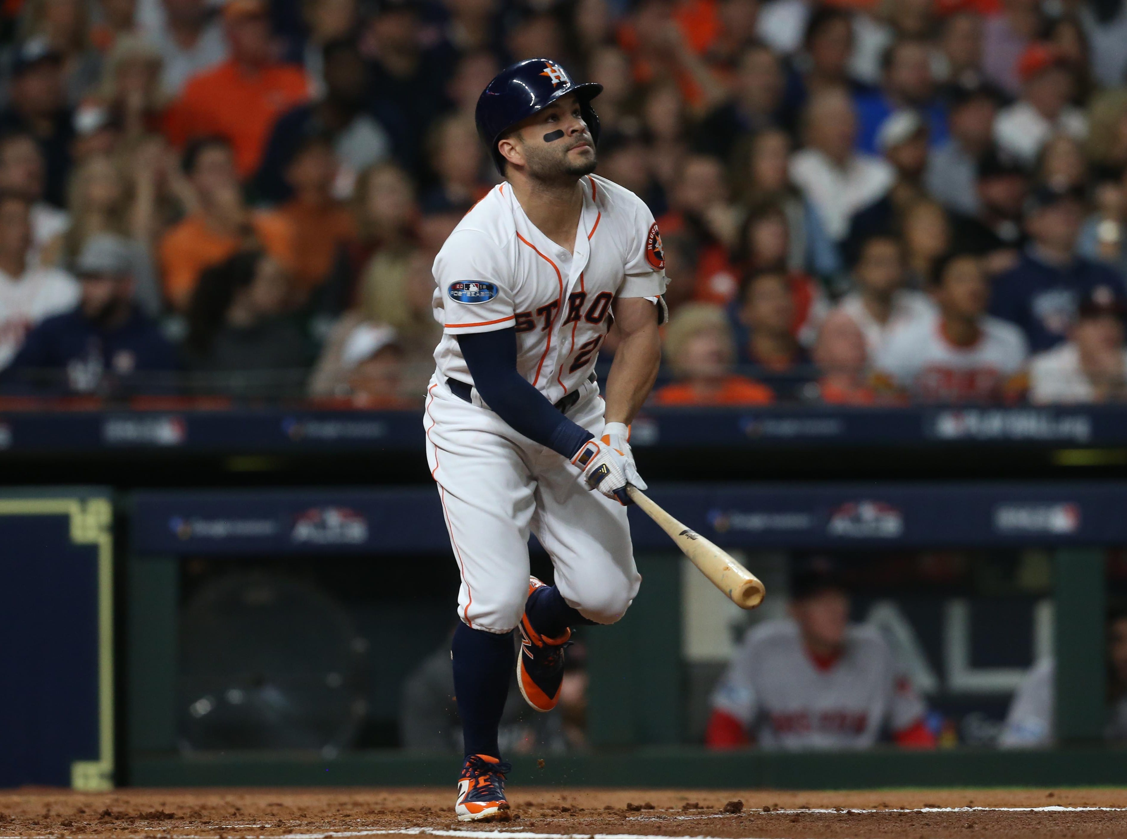 8. Jose Altuve, Houston Astros second baseman.