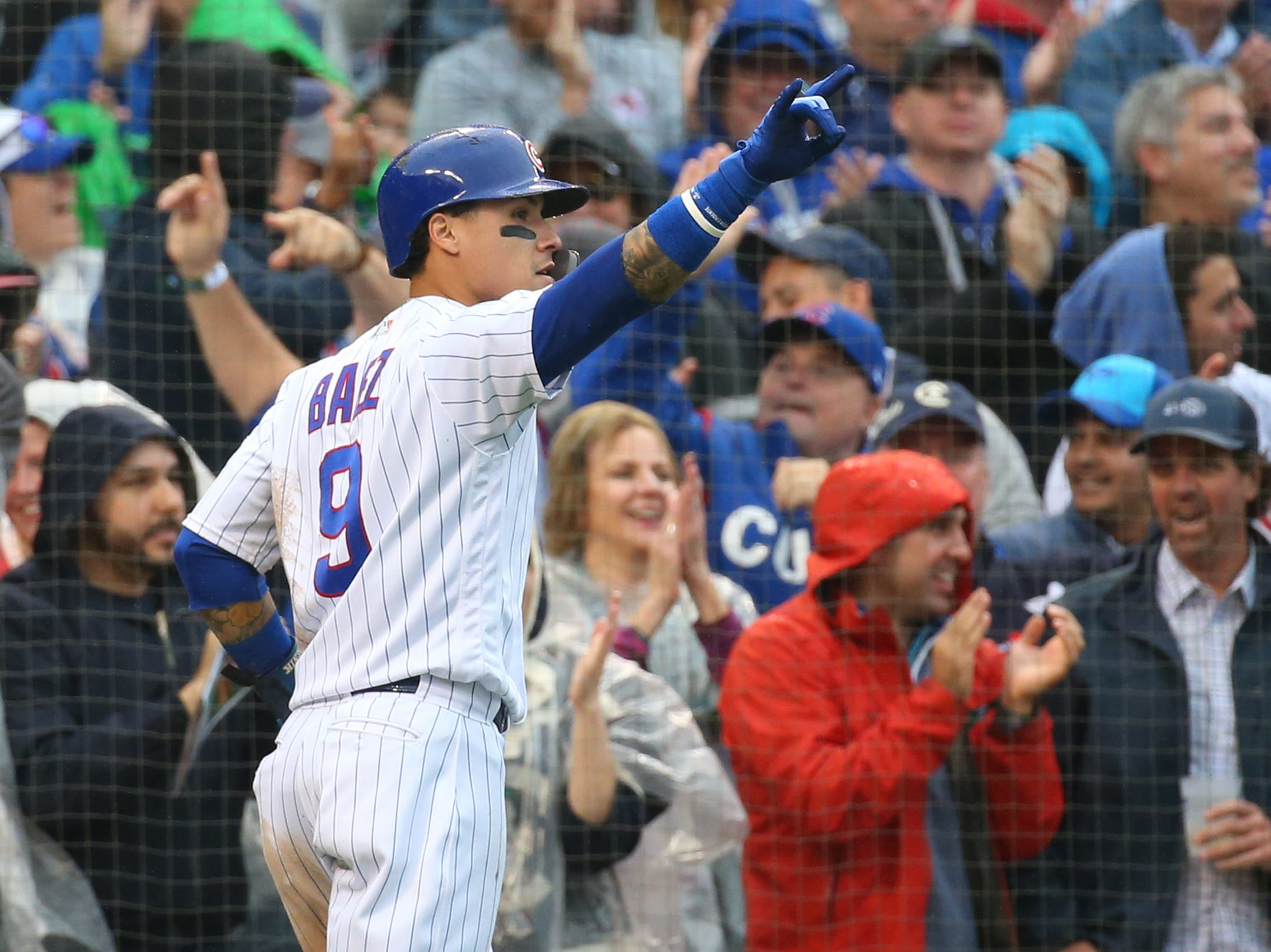 25. Javier Baez, Chicago Cubs second baseman/shortstop/third baseman.
