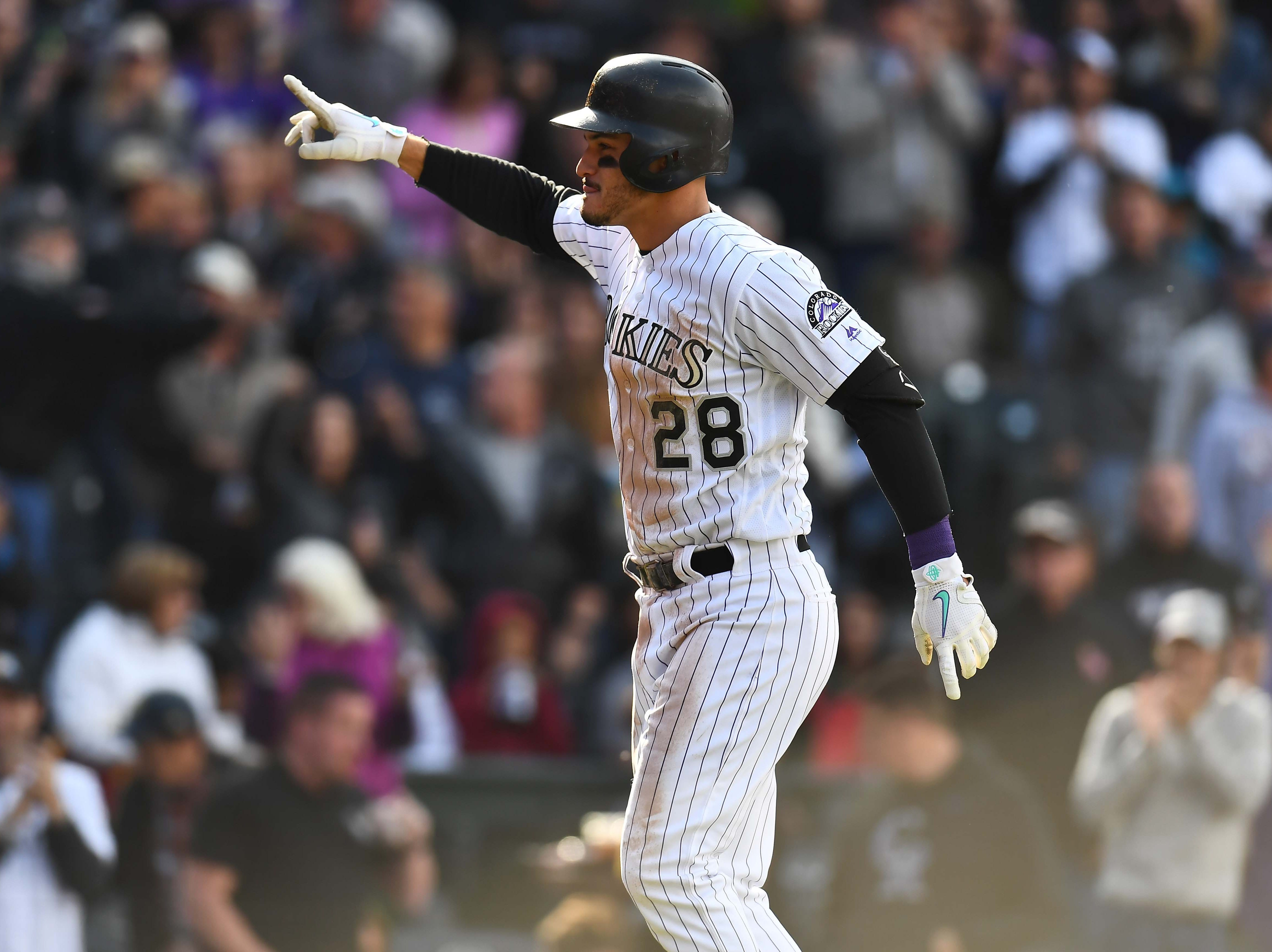 6. Nolan Arenado, Colorado Rockies third baseman.