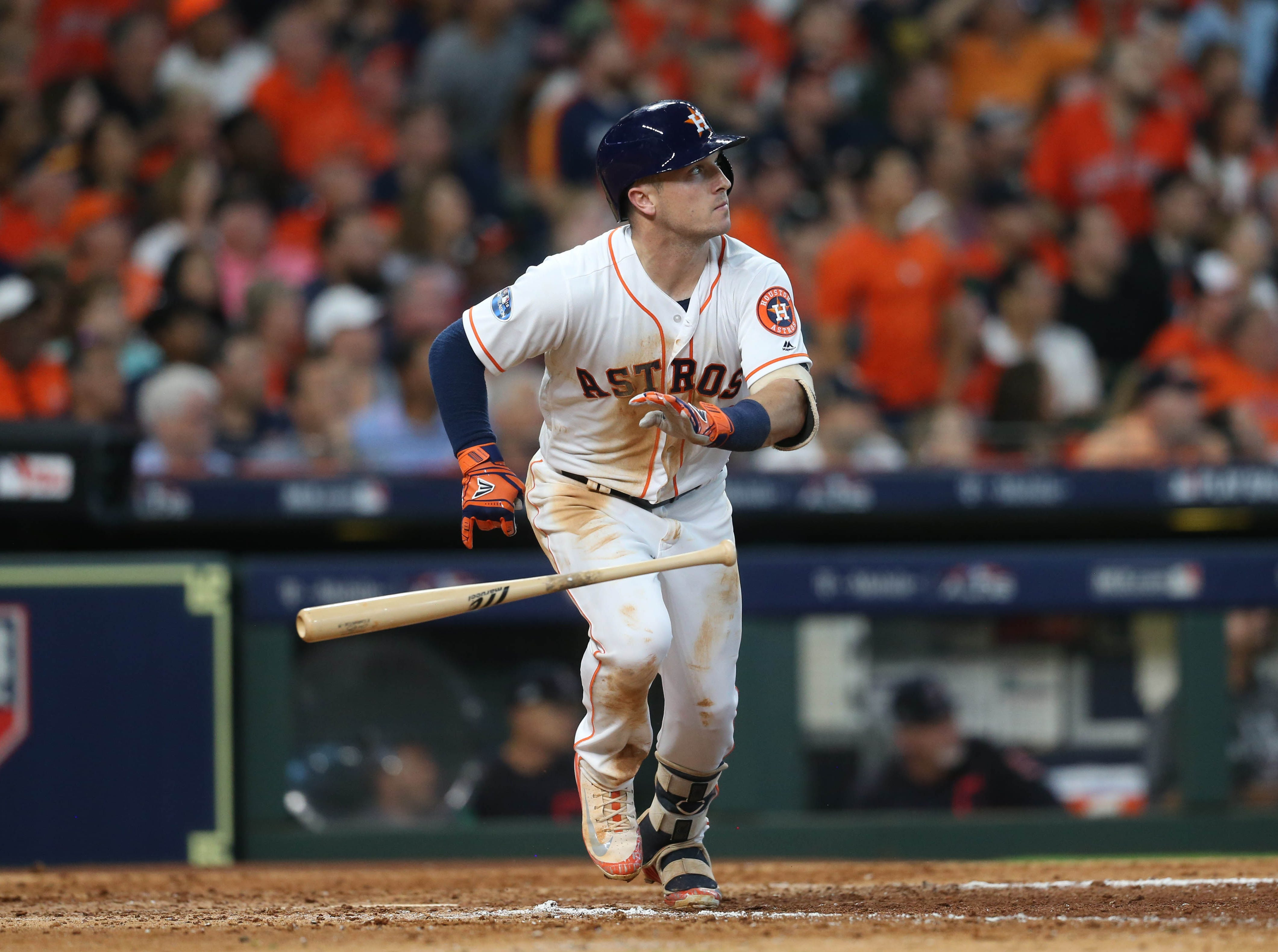 22. Alex Bregman, Houston Astros shortstop/third baseman.