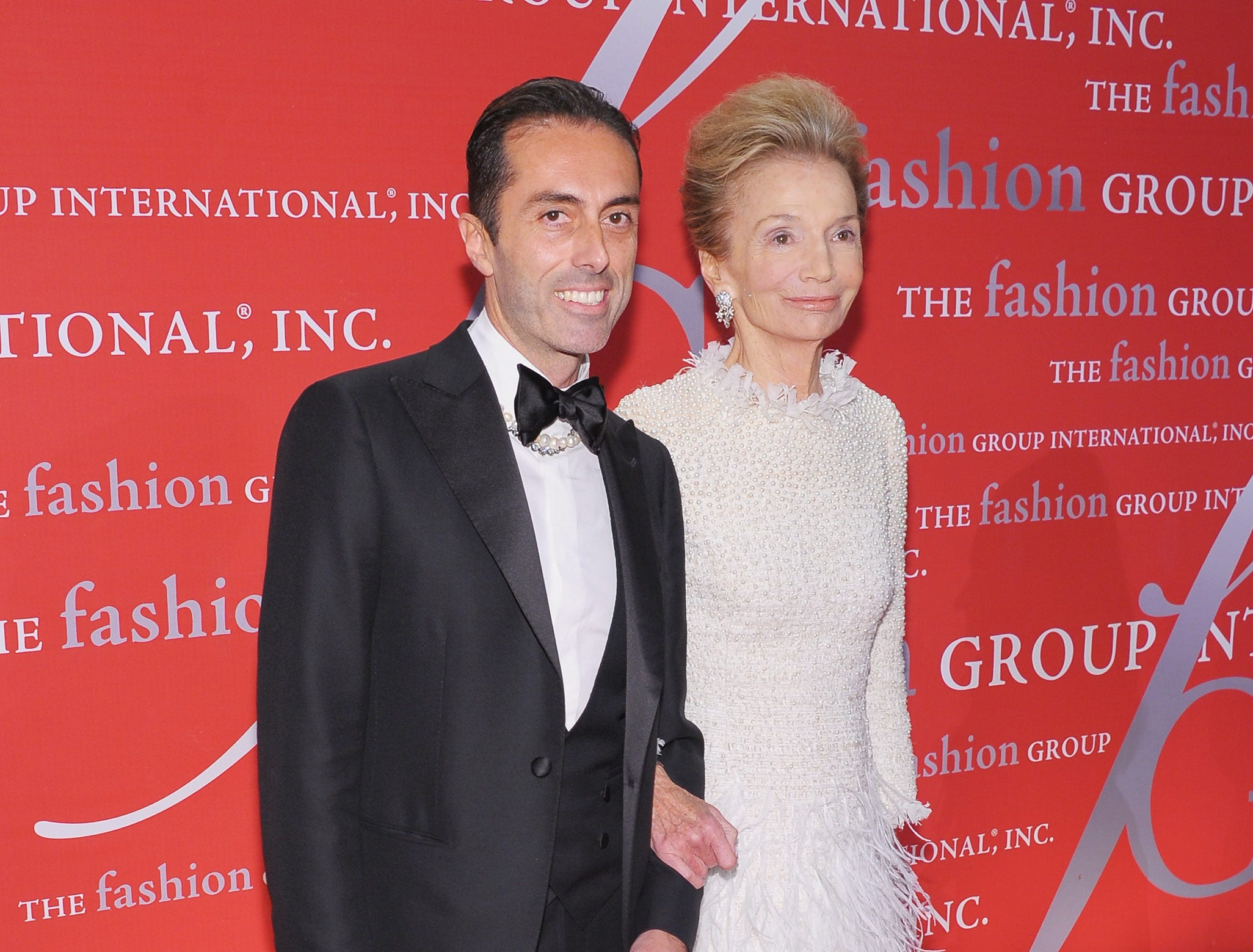 Designer Giambattista Valli and Lee Radziwill attends the Fashion Group International's 28th annual Night of Stars at Cipriani Wall Street on Oct. 27, 2011 in New York City.