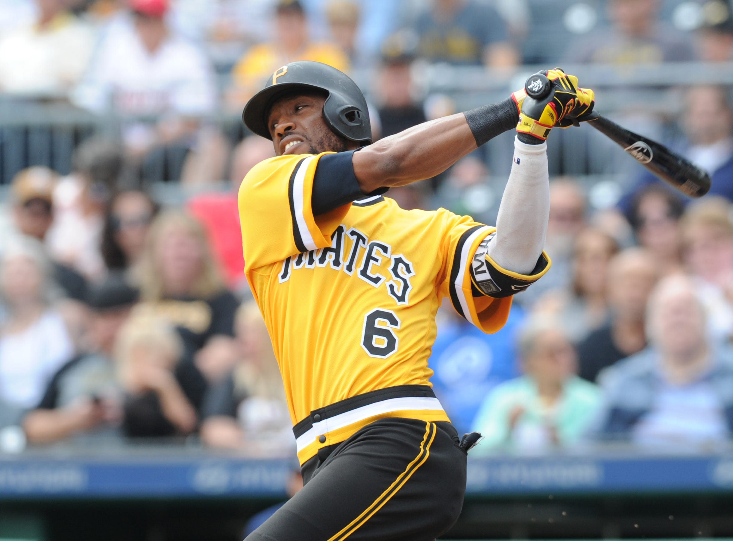 38. Starling Marte, Pittsburgh Pirates outfielder.
