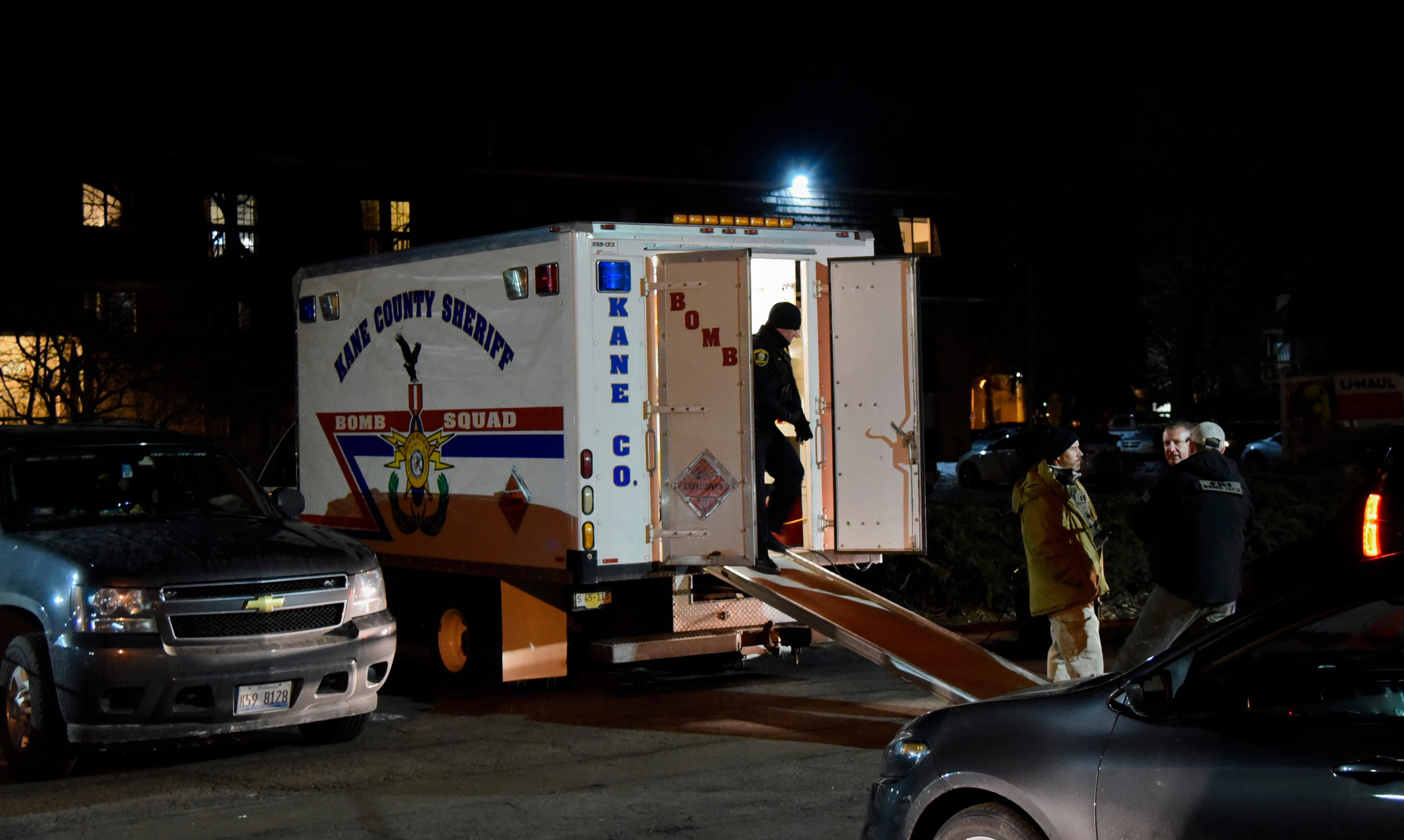 Fired factory worker goes on shooting rampage at Aurora, Illinois, plant, killing five
