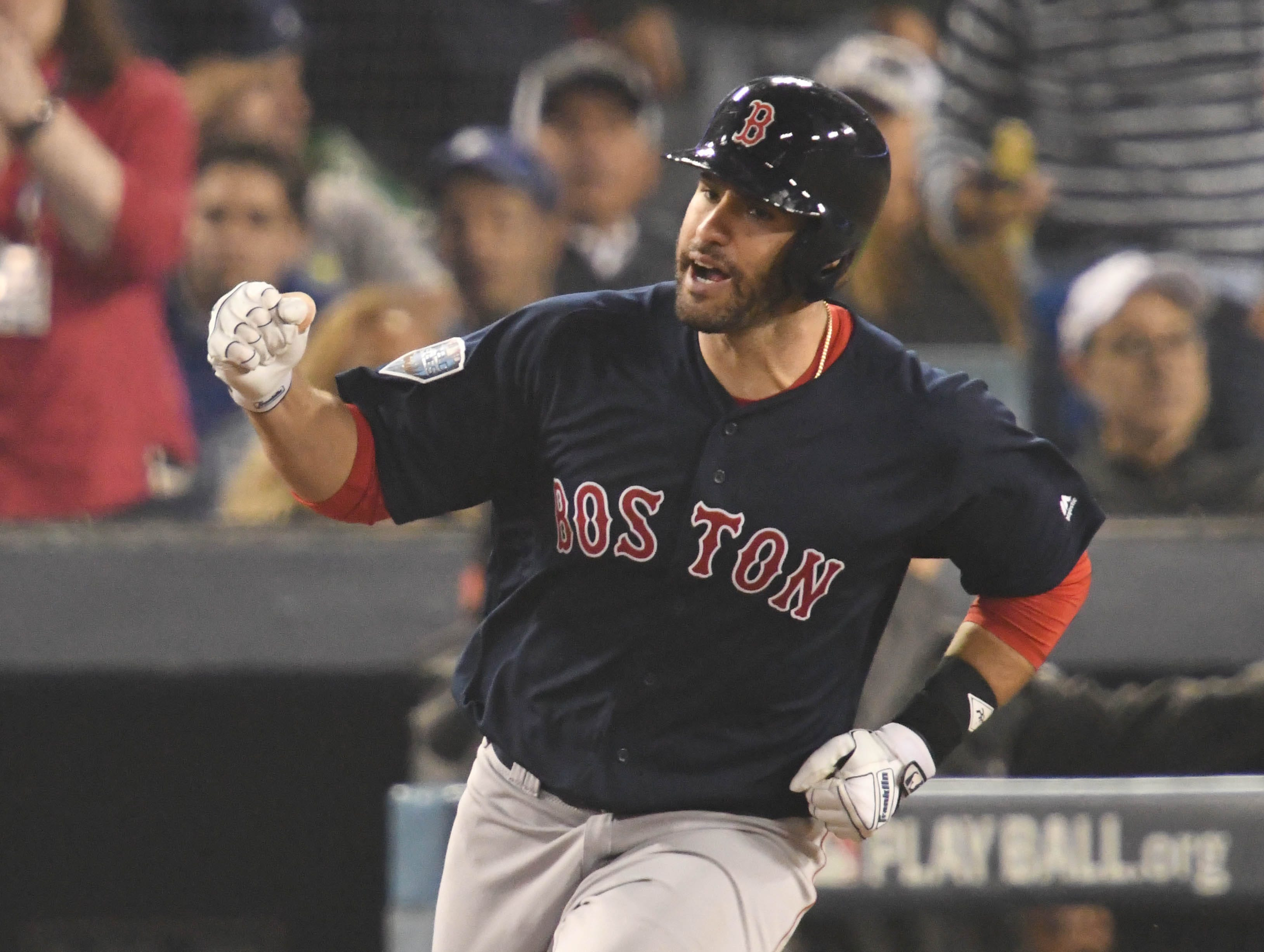 5. J.D. Martinez, Boston Red Sox outfielder.