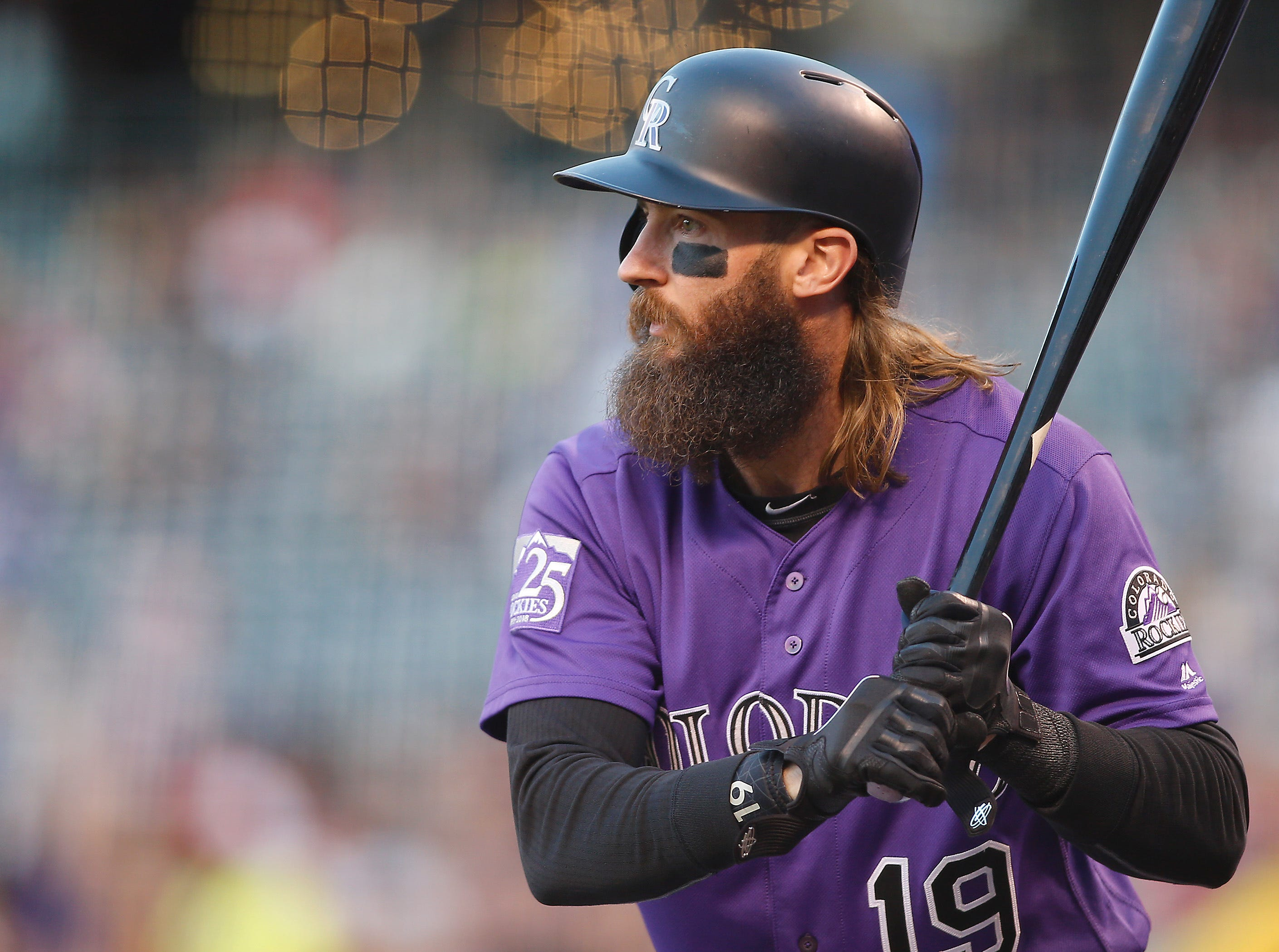 18. Charlie Blackmon, Colorado Rockies outfielder.