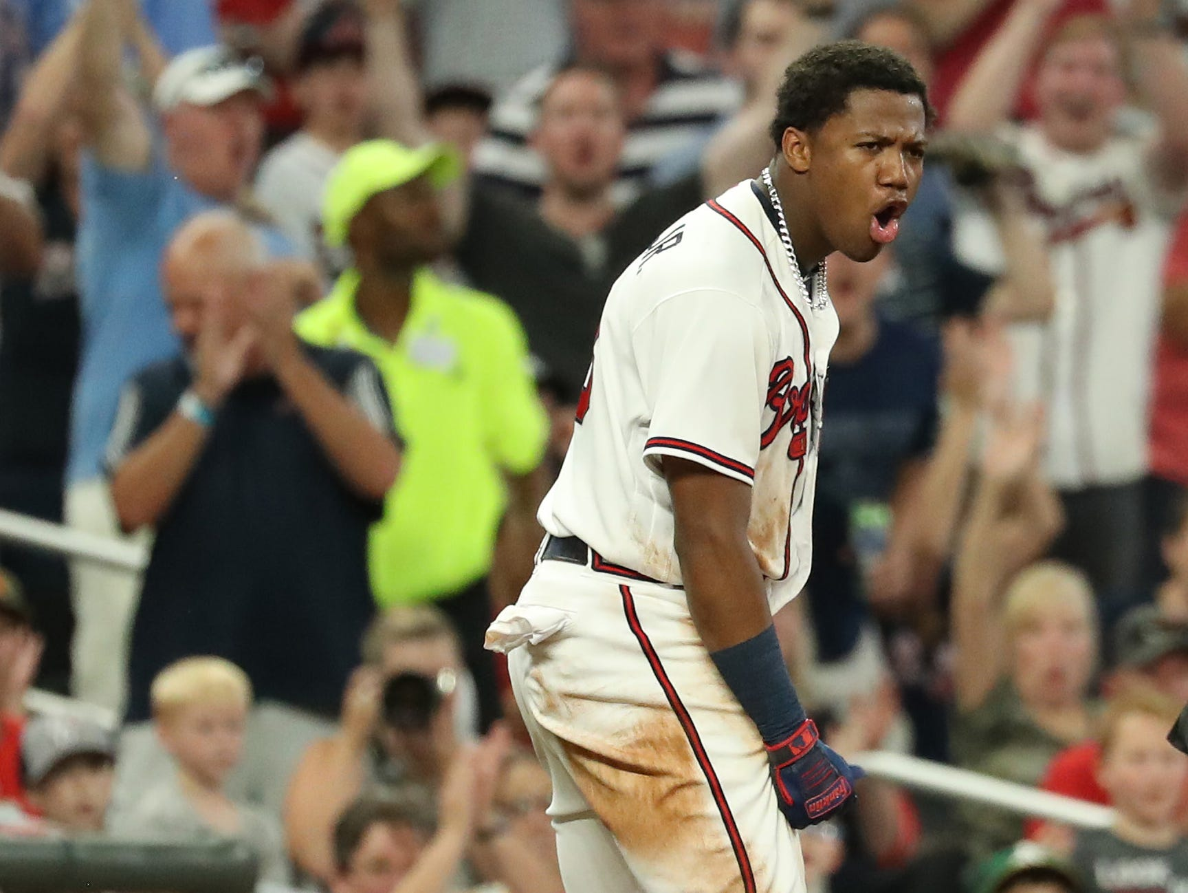 15. Ronald Acuna Jr., Atlanta Braves outfielder.