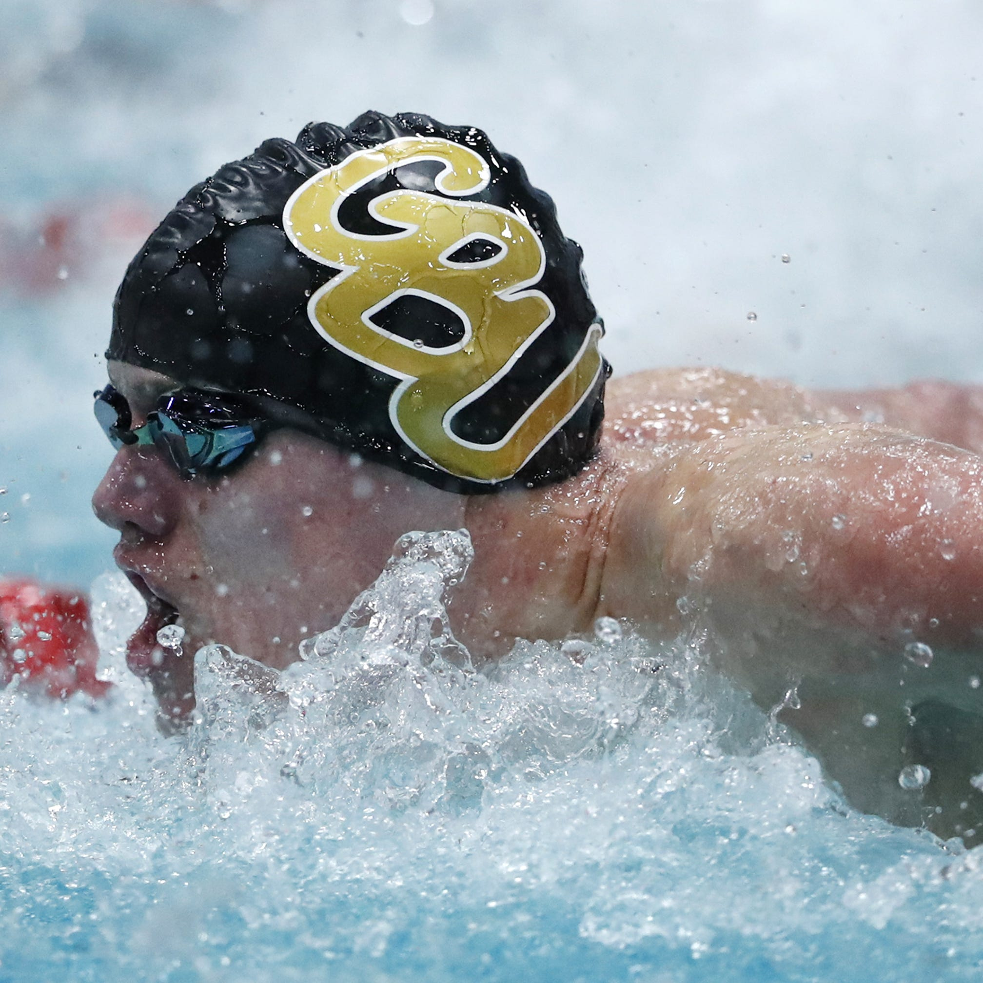 Kaiser Neverman posts two top-four finishes at Division 1 state swim meet