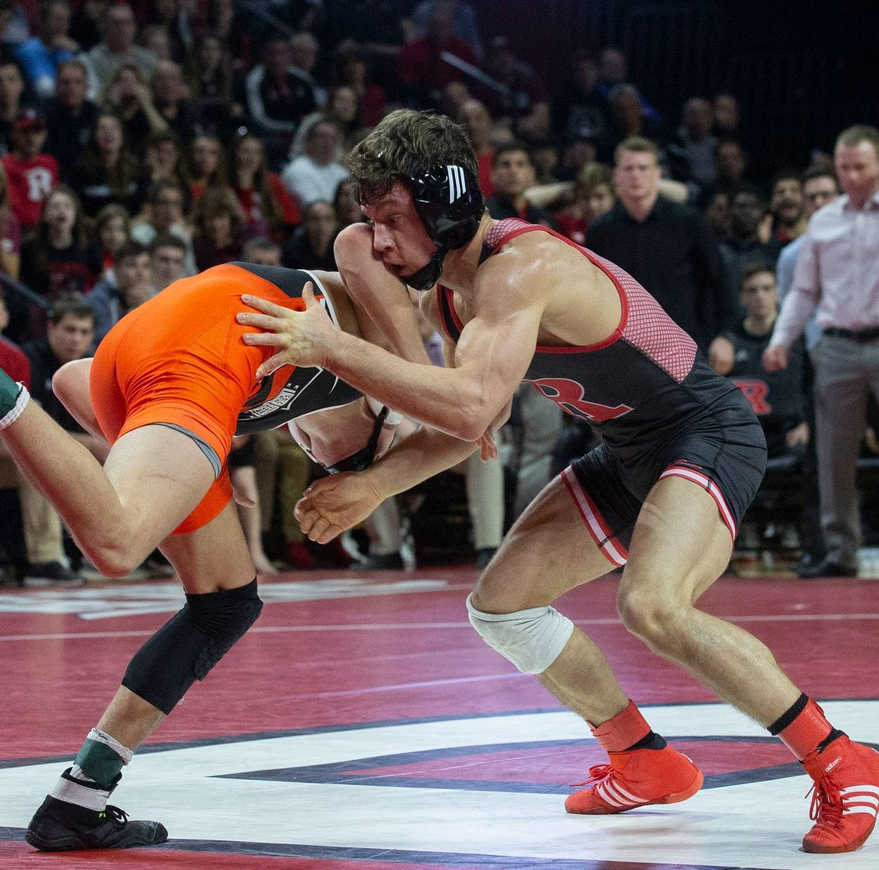 Rutgers wrestling: Nick Suriano defeated by Stevan Micic of Michigan