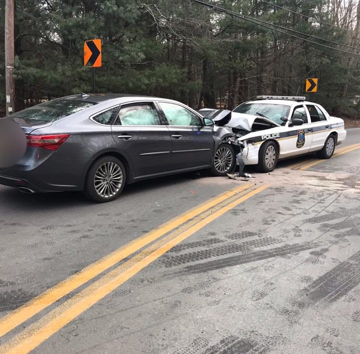 Motorist who crashed into Howell police car doesn't know what happened