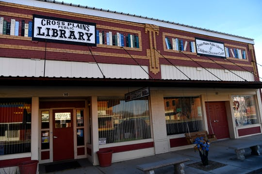 The Cross Plains Public Library at 149 Main St.