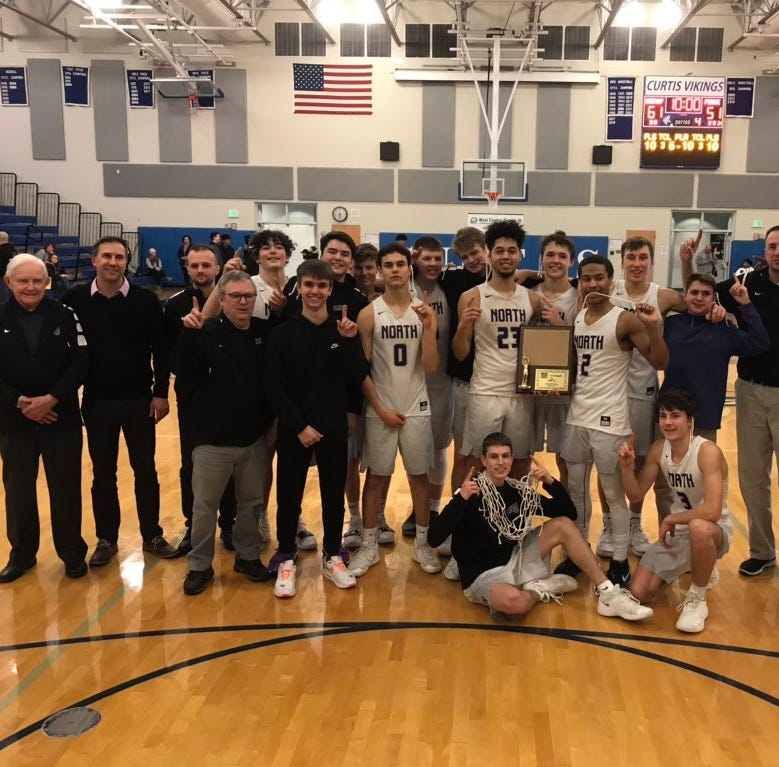 North Kitsap boys basketball claims third district title in four seasons