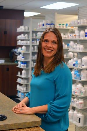Pharmacist Jessica Beal-Stahl has been with Hobbs Pharmacy on Merritt Island since 2009.