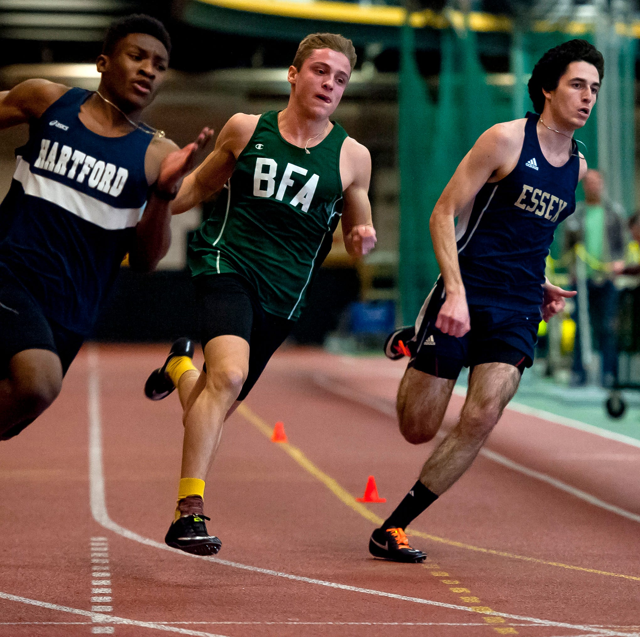 Vermont indoor track: Essex, St. Johnsbury, Rice and Oxbow claim state titles