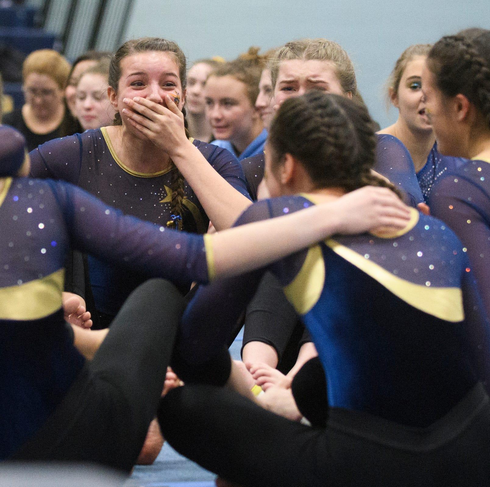 Essex edges CVU to reclaim gymnastics state crown