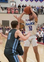 Zane Trace's Cam Evans earned all-league first team honors, in addition to winning the league's Player of the Year award.