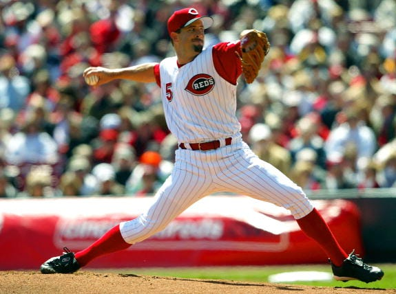 Cory Lidle's only Opening Day start for the Reds came on April 5, 2004, in a 7-4 loss to the Chicago Cubs.