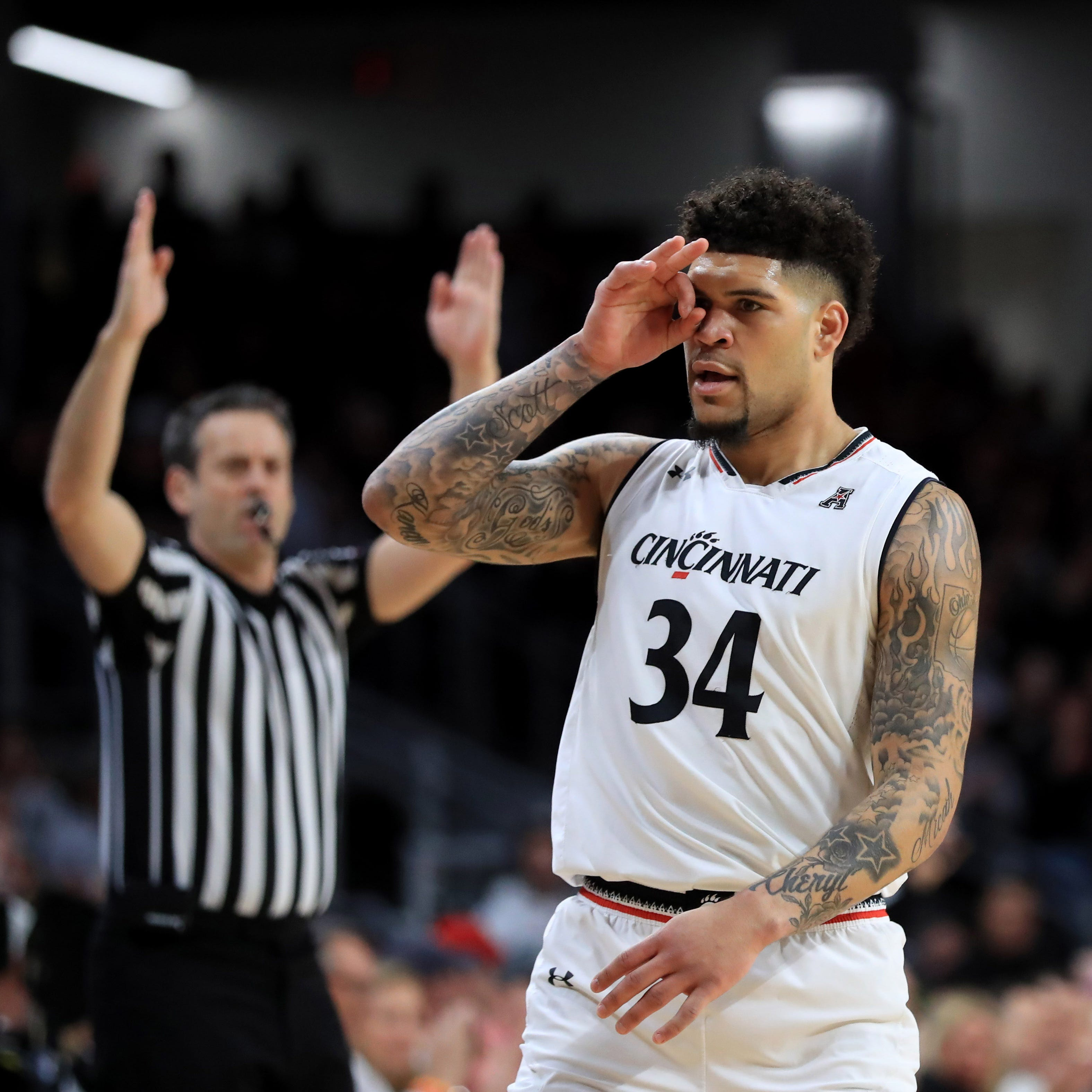 CBS Bracketology forecasts possible Cincinnati Bearcats vs. Kentucky Wildcats NCAA Tournament game
