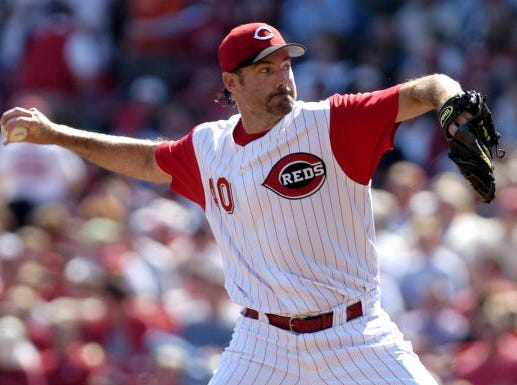 Paul Wilson allowed three earned runs in six innings - just as opposing starter and future Hall of Famer Pedro Martinez did for the Mets - in Wilson's only Opening Day start for the Reds - in 2005. Cincinnati won it, 7-6, with back-to-back home runs by Adam Dunn and Joe Randa in the bottom of the 9th.