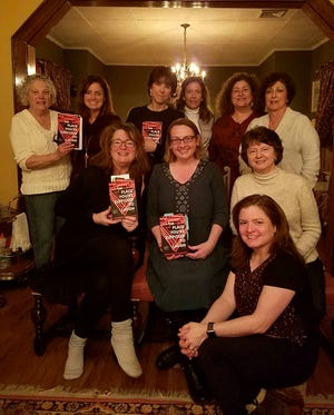 (Seated, left to right): Weisgerber, Rossman, Francine Dellorusso of Bernardsville, and Brunny Fullowan of Warren Township. (Standing, left to right)Kathie Schwartz and Helen Moore of Millington, Suzanne Reino of Berkeley Heights, Mimi McDonough and Linda Cuomo of Millington, and Terry Stringfield of Gillette. Missing from the photo is Lori Lane of Flemington.