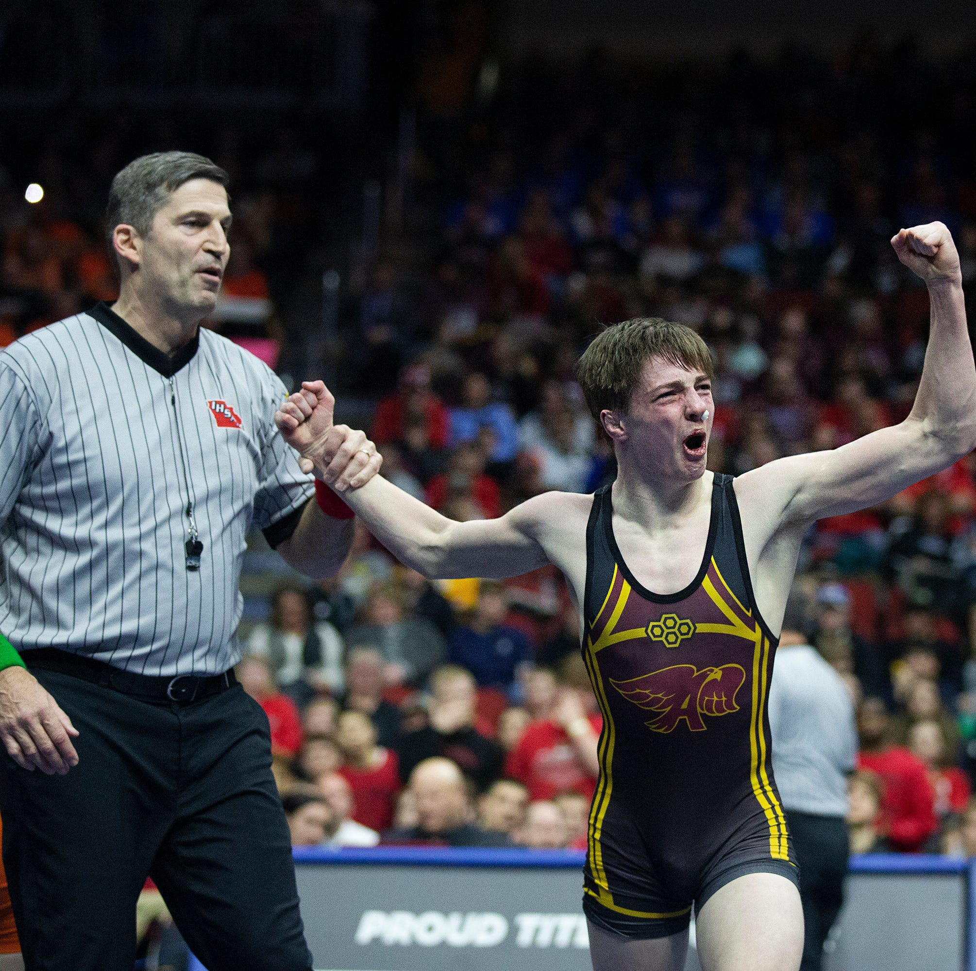 State wrestling: Ankeny schools showcase wrestling strength, promise in Class 3A finals
