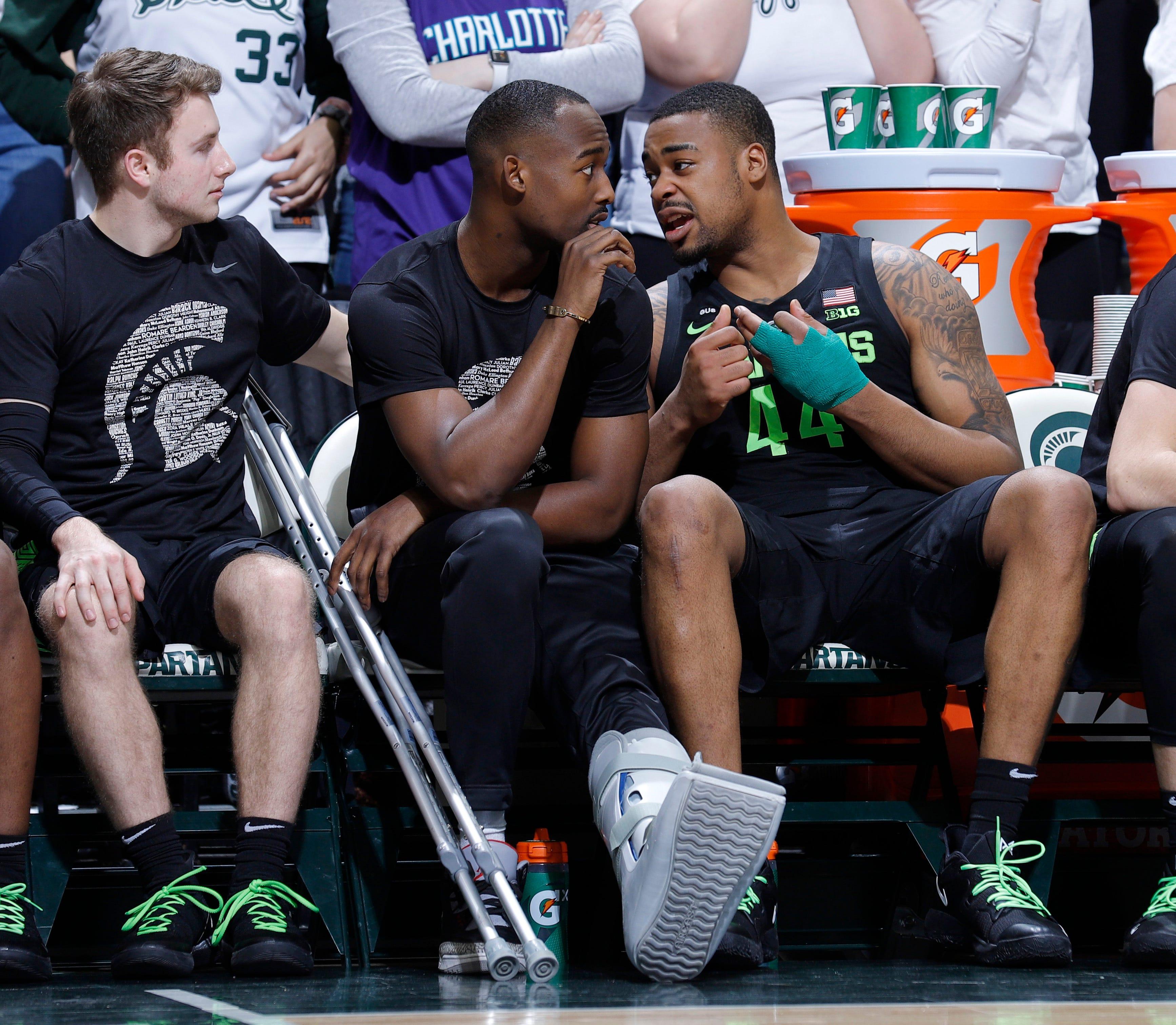 Braden Burke Michigan State Spartans Final Four Basketball Jersey - Green