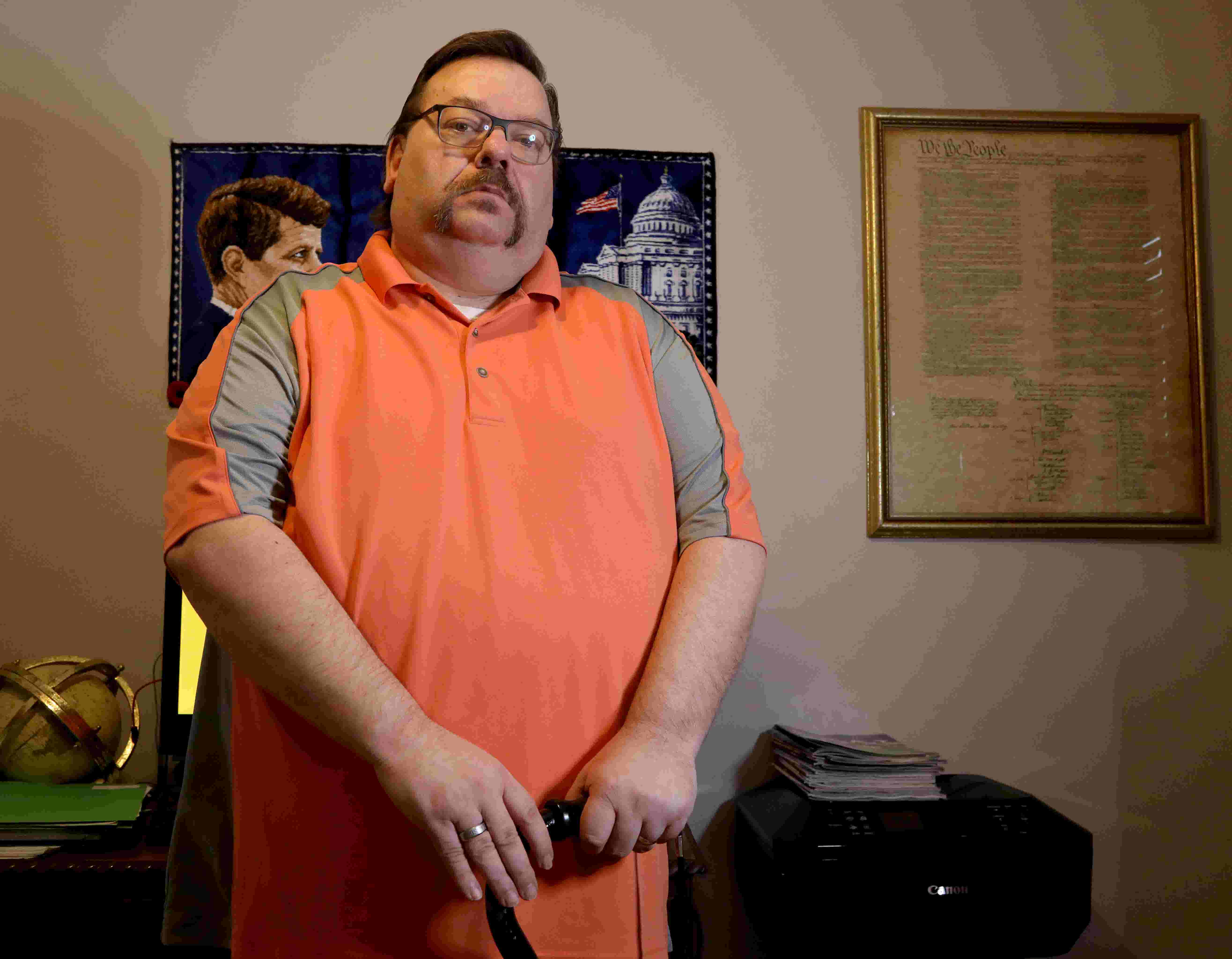 Taylor treasurer, home on disability, finds pay gone, job in jeopardy