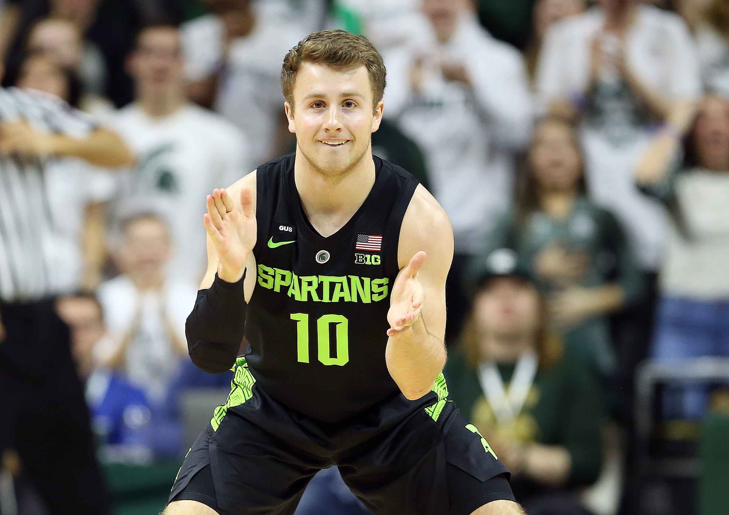 Michigan State's walk-on has special connection to Tom Izzo