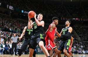 Freshman Thomas Kithier could see more playing time in Nick Ward's absence.