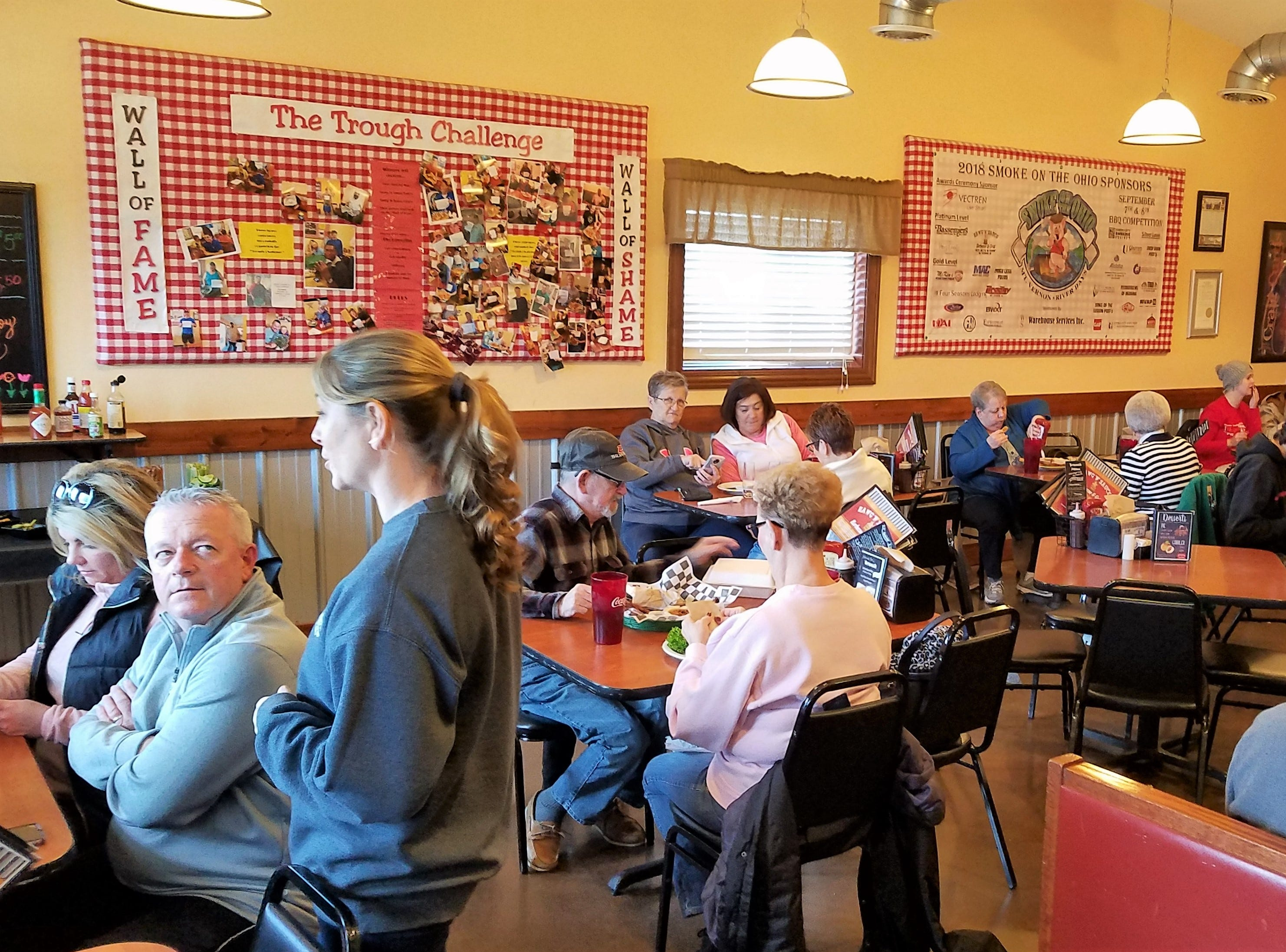 Hawg N Sauce is always a busy place, but now Saturday lunch is even busier with customers enjoying the new brunch menu.