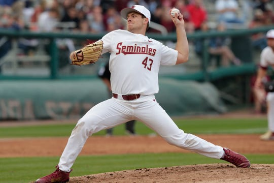 Florida State junior left handed pitcher Drew Parrish threw a combined no hitter against Maine on Opening Day.