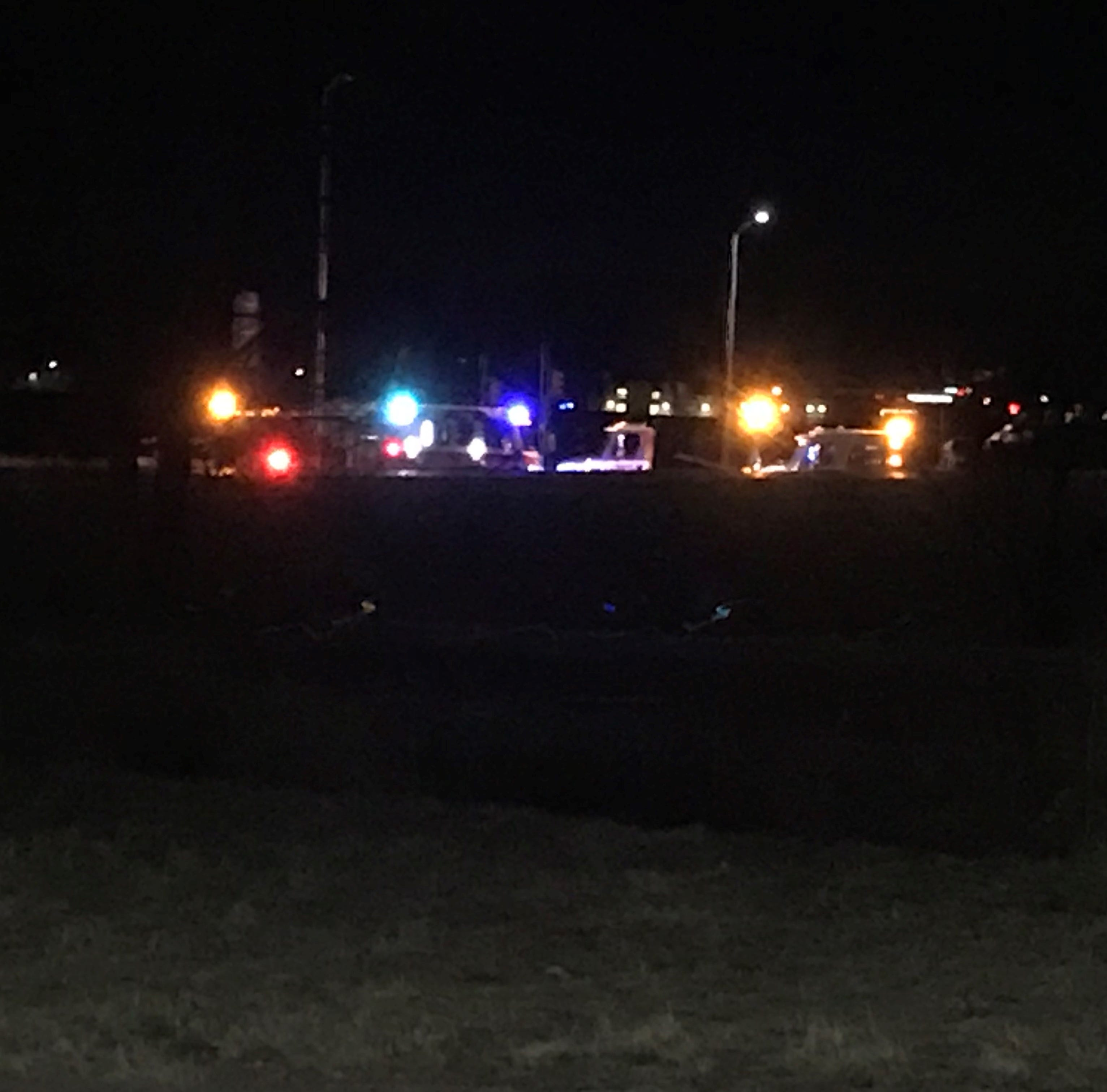 DUI suspected in double-rollover I-25 crash, 4 injured