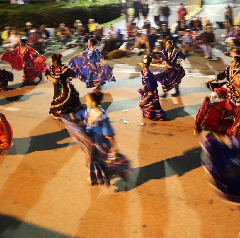 Relive the Edison Festival of Light Grand Parade in downtown Fort Myers