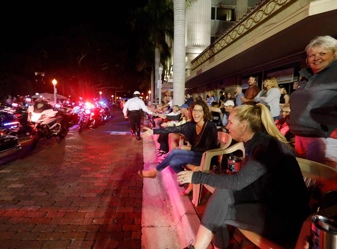 Images from the Edison Festival of Light Grand Parade in downtown Fort Myers on Saturday 2/16/2019.