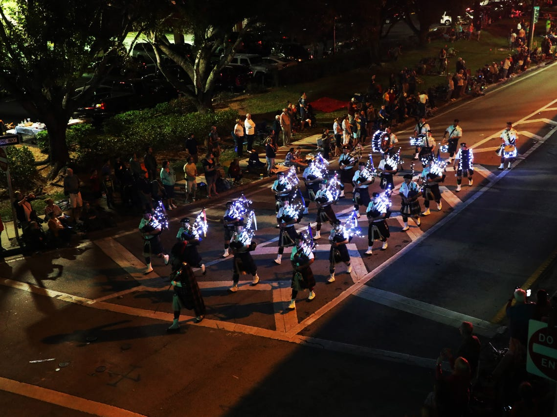 Images from the Edison Festival of Light Grand Parade in downtown Fort Myers on Saturday 2/16/2019. .