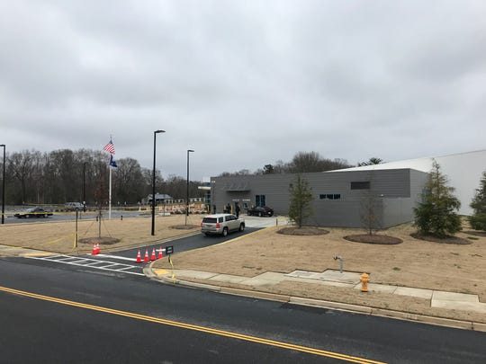 The scene at Five Forks library Sunday, Feb. 17, 2019 around 12 p.m. ahead of the 3 p.m. Drag Queen Story Hour event there.
