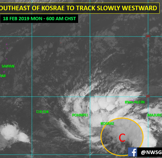 Tropical disturbance forecast to head toward Marianas