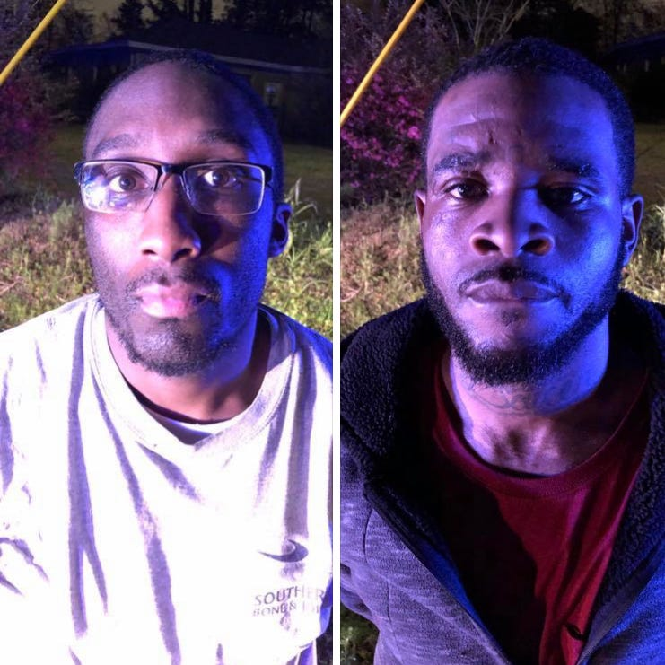 2 inmates who escaped from Forrest County Jail are back in police custody