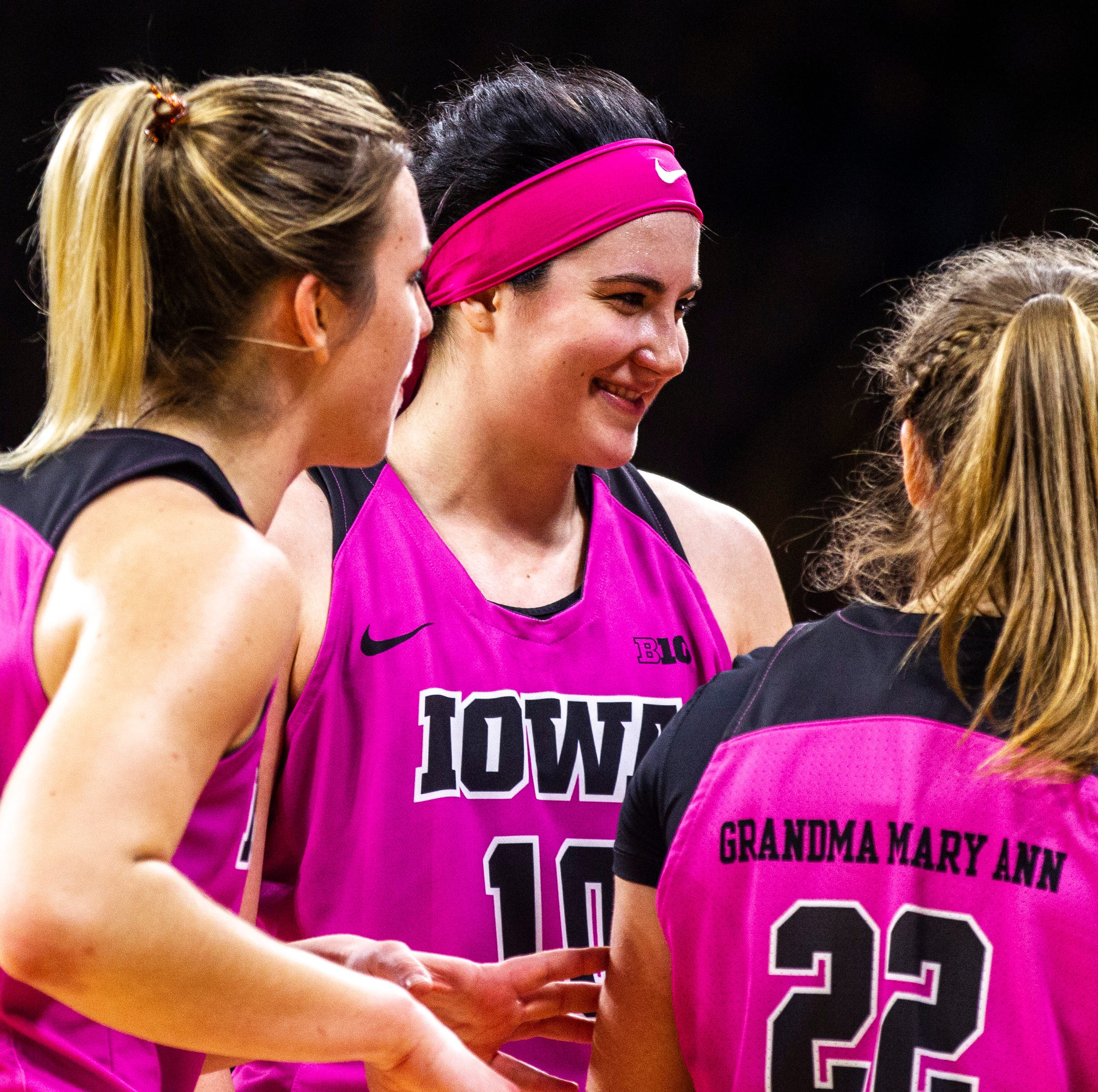 In 'a really great spot,' No. 10 Hawkeyes women looking to finish strong