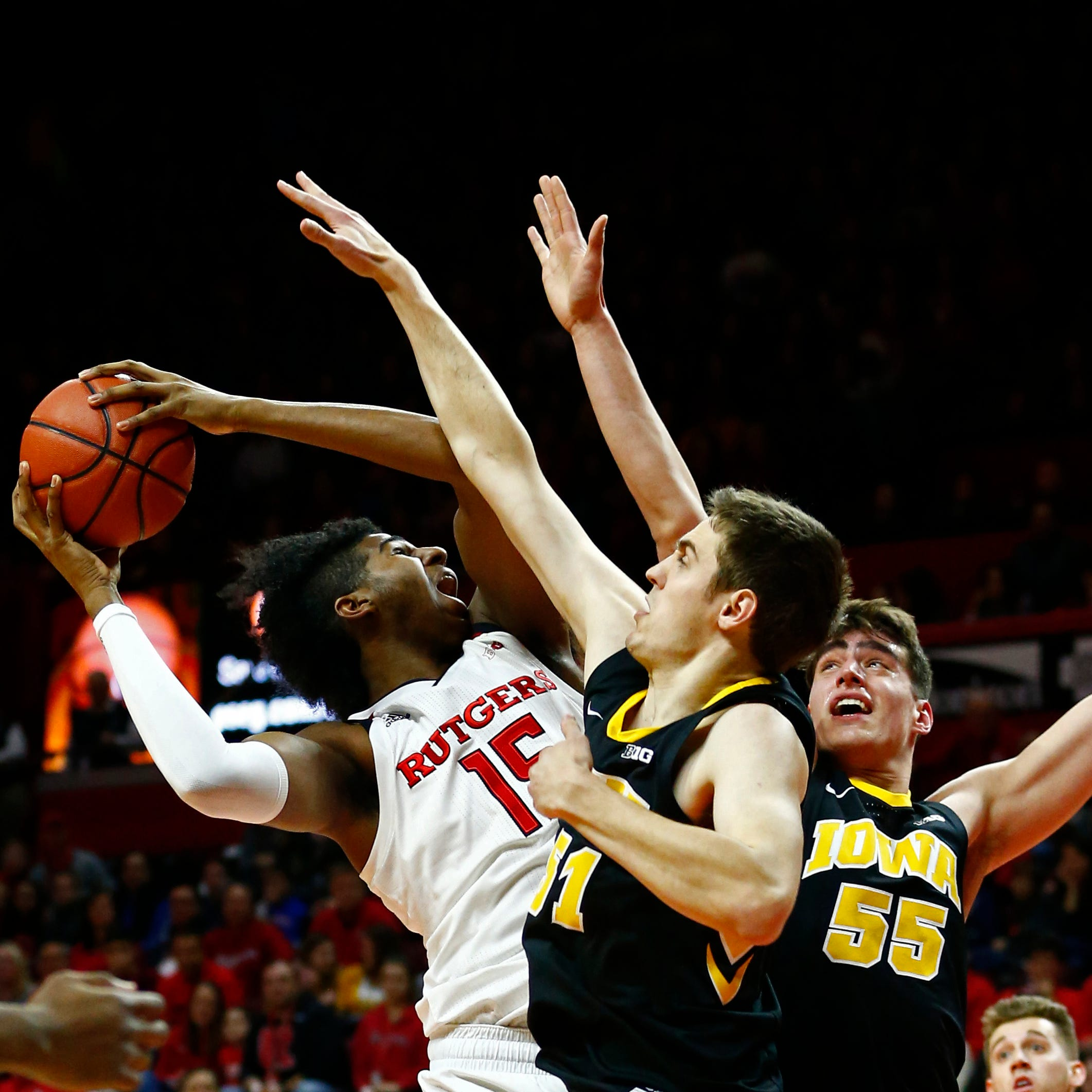 No. 17 Hawkeyes prove their mettle against brutish Rutgers