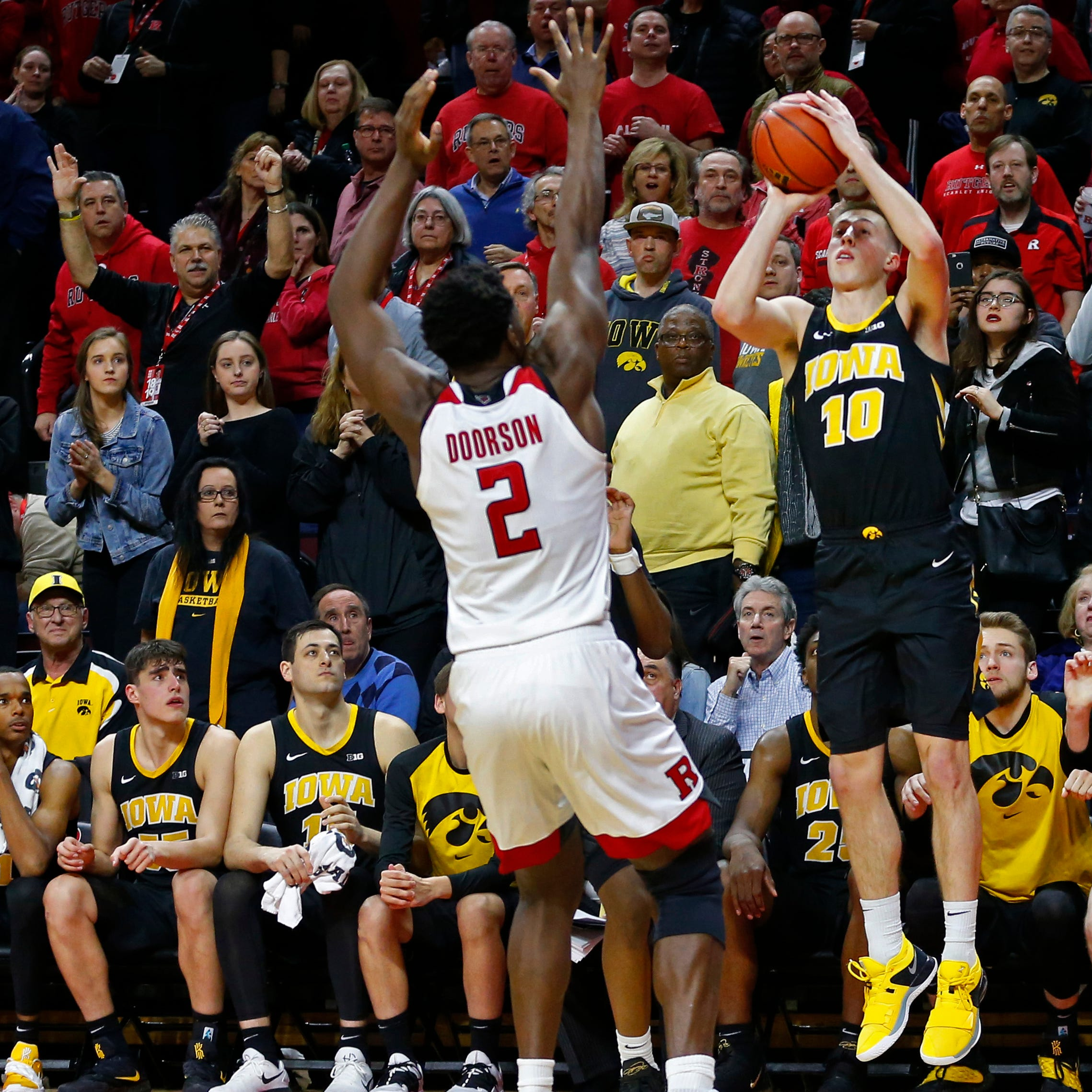 Joe Wieskamp 3-pointer caps another miracle win for No. 17 Iowa