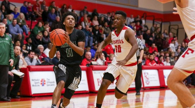 Zionsville's Isaiah Thompson is over 2,000 career...