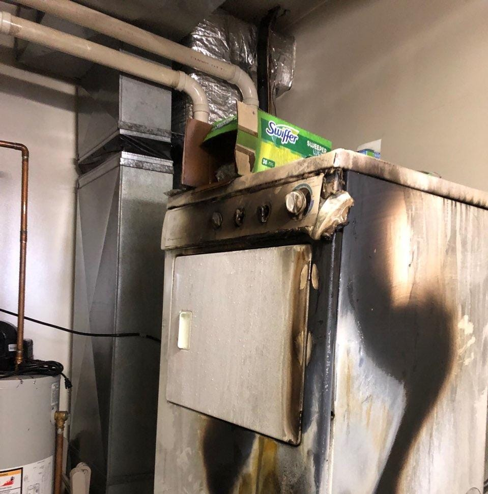 Ithaca apartment fire caused by dryer lint