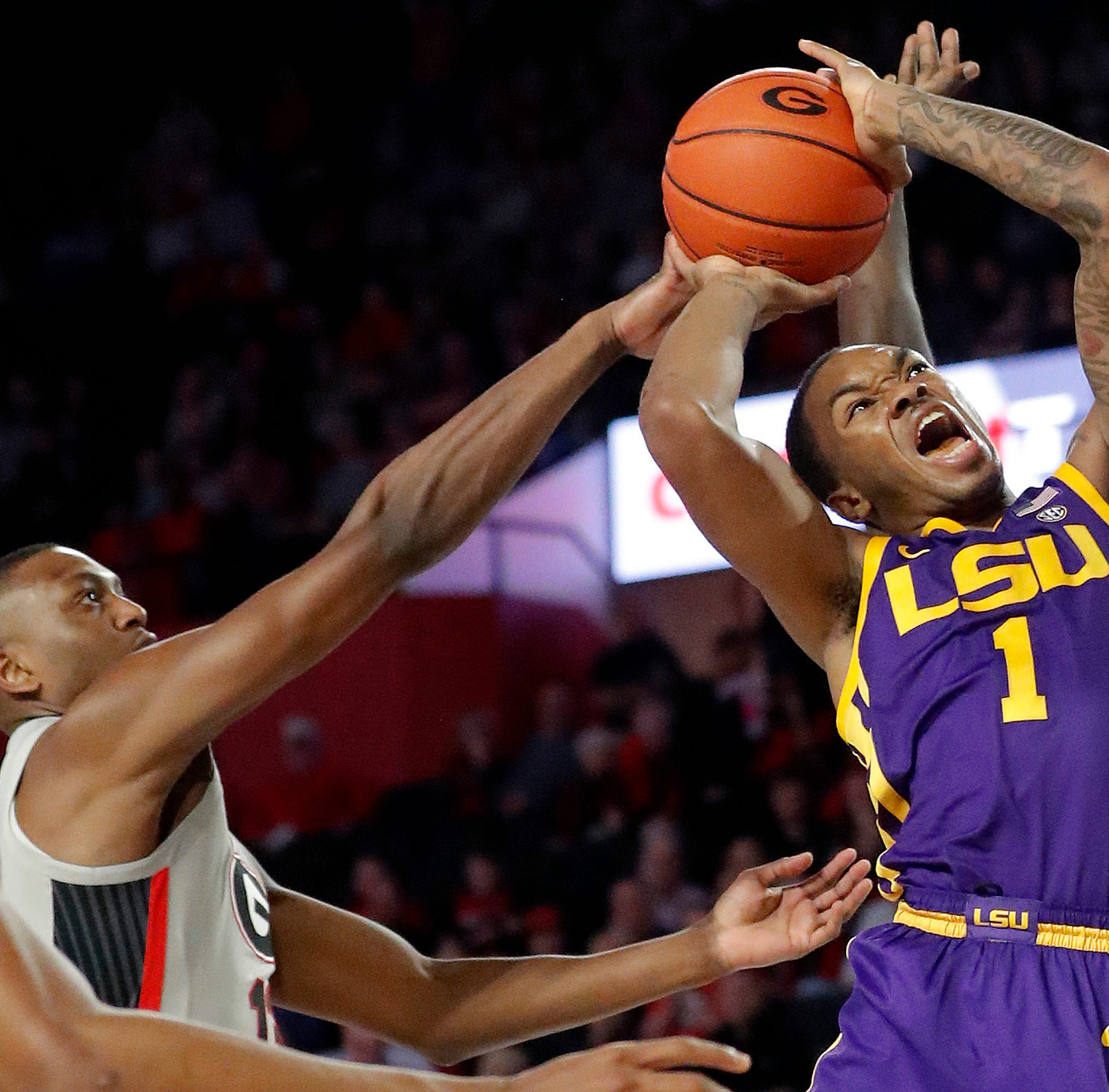 Waters, Smart lead No. 19 LSU over Georgia