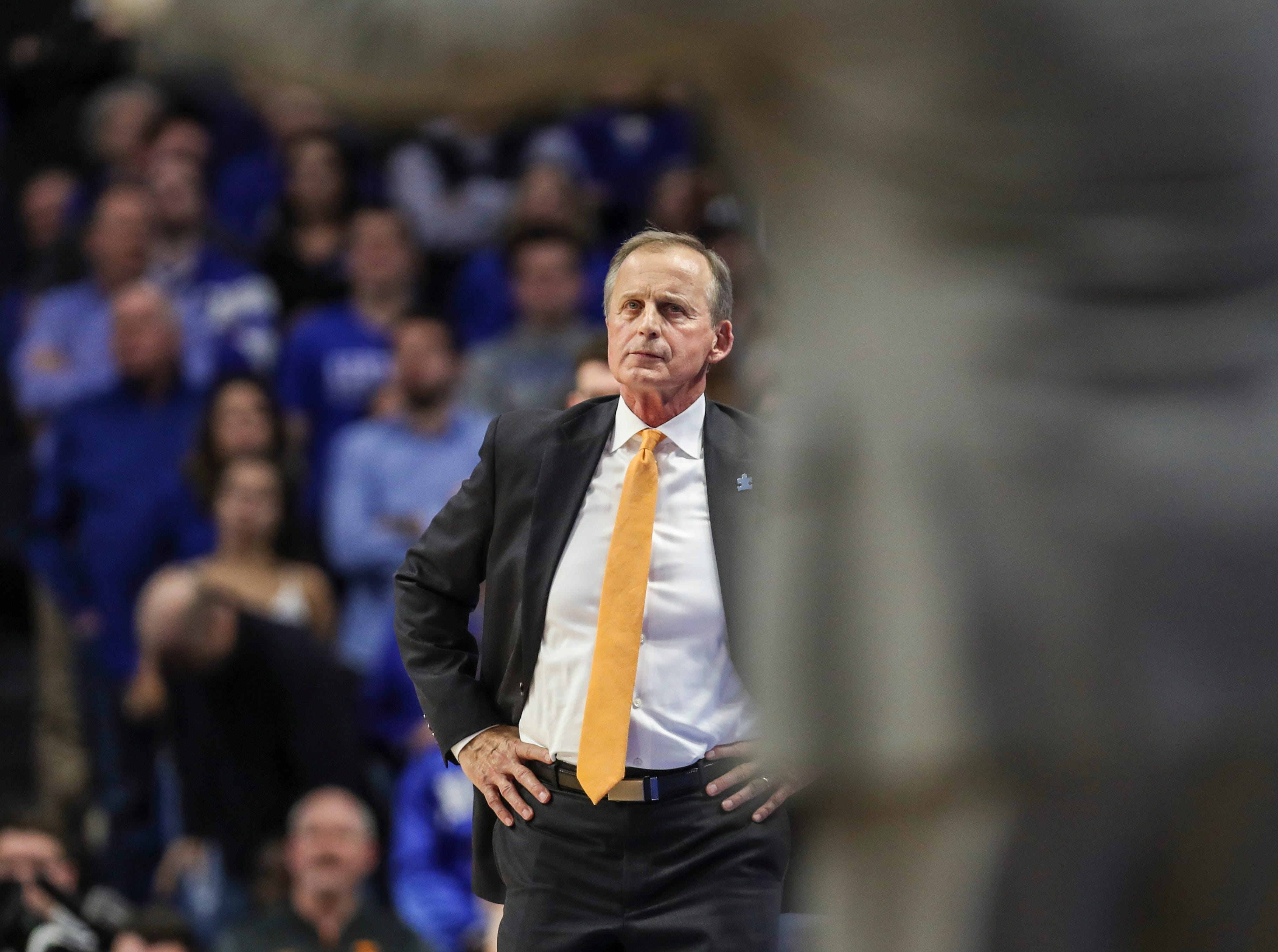 Tennessee's Rick Barnes didn't have the answers for Kentucky and PJ Washington Jr. Feb. 16, 2019